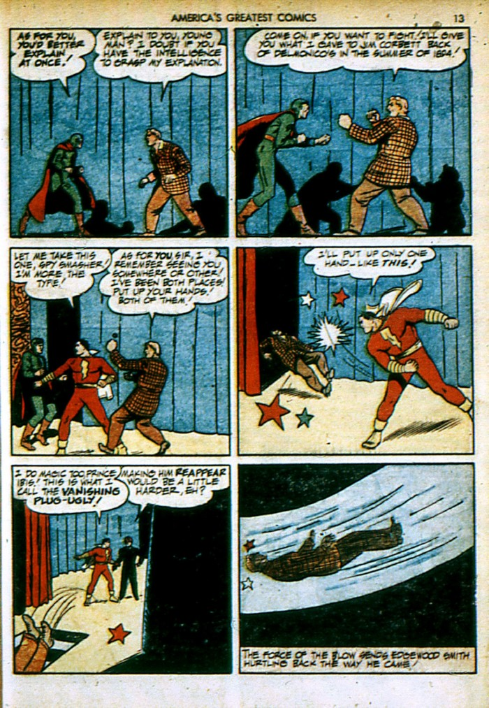 Read online America's Greatest Comics comic -  Issue #4 - 13