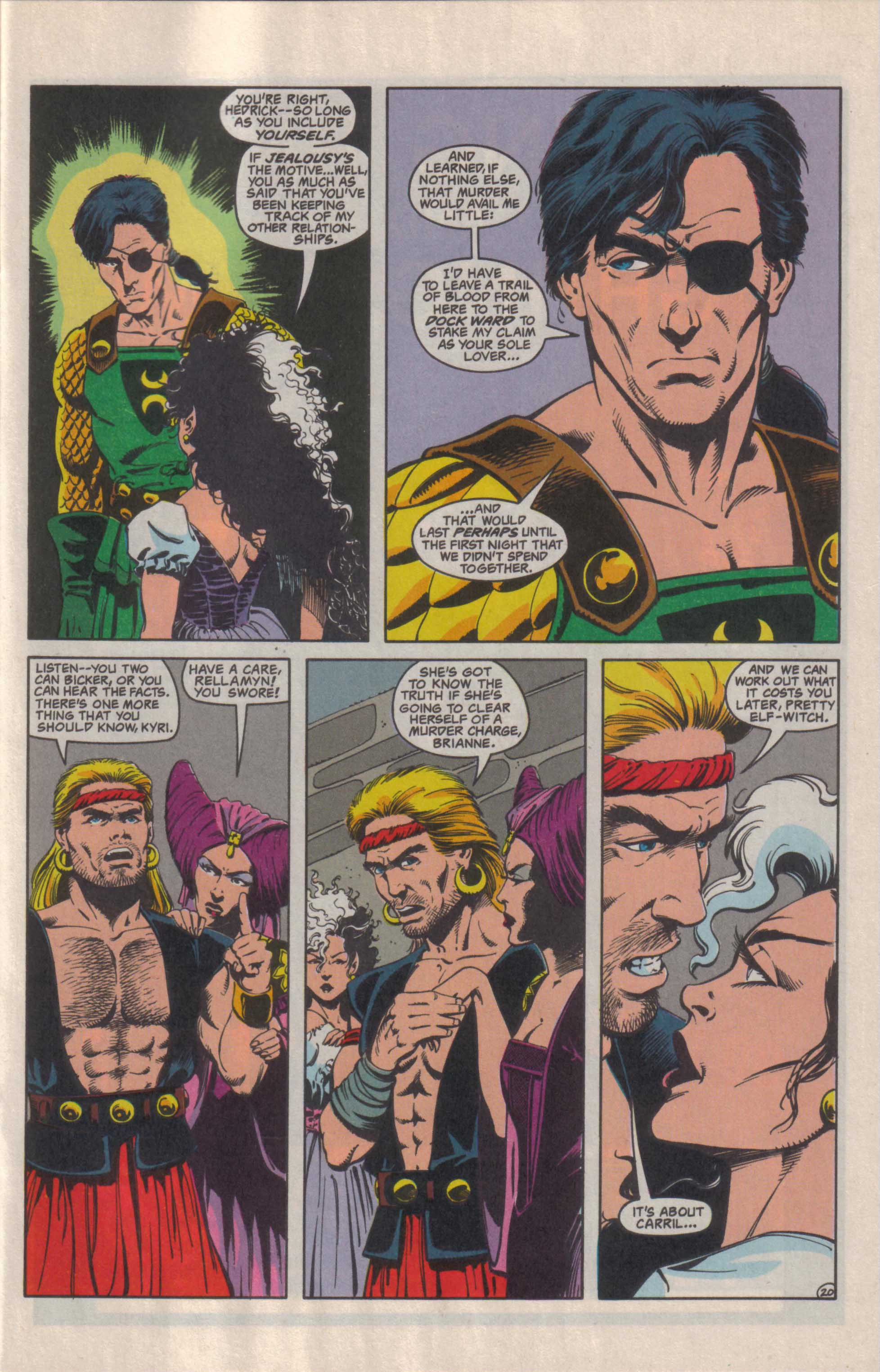 Read online Advanced Dungeons & Dragons comic -  Issue #27 - 21