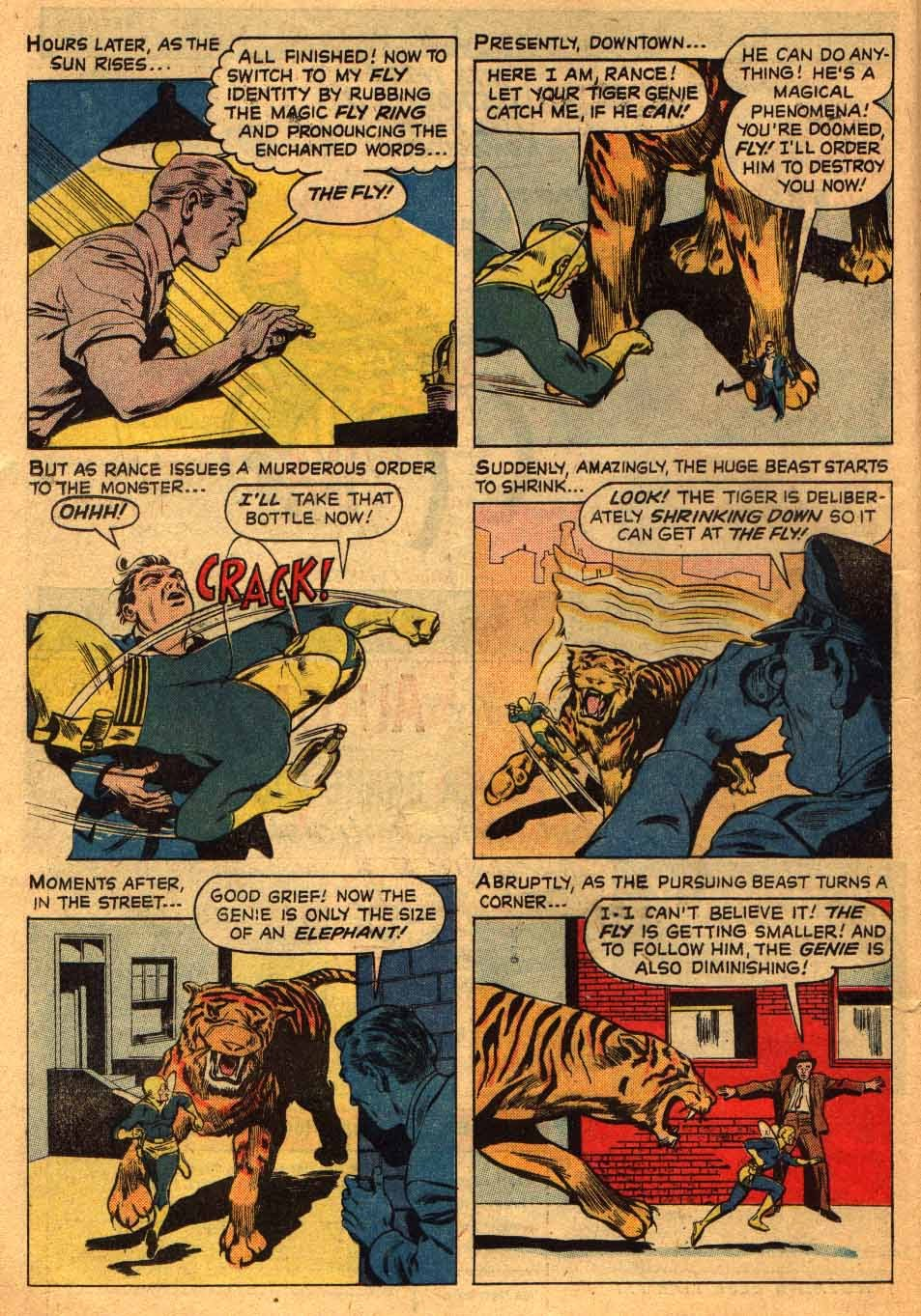 Adventures of the Fly issue 13 - Page 10
