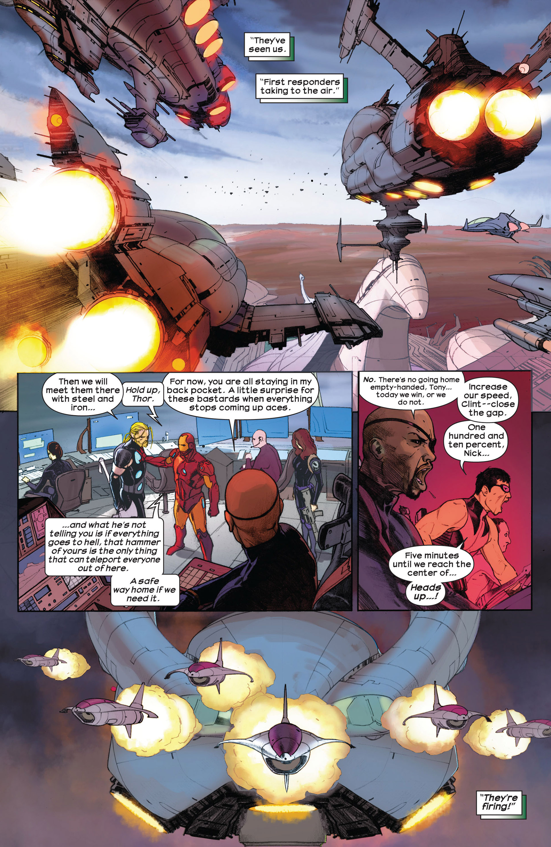 Read online Ultimate Comics Ultimates comic -  Issue #3 - 7