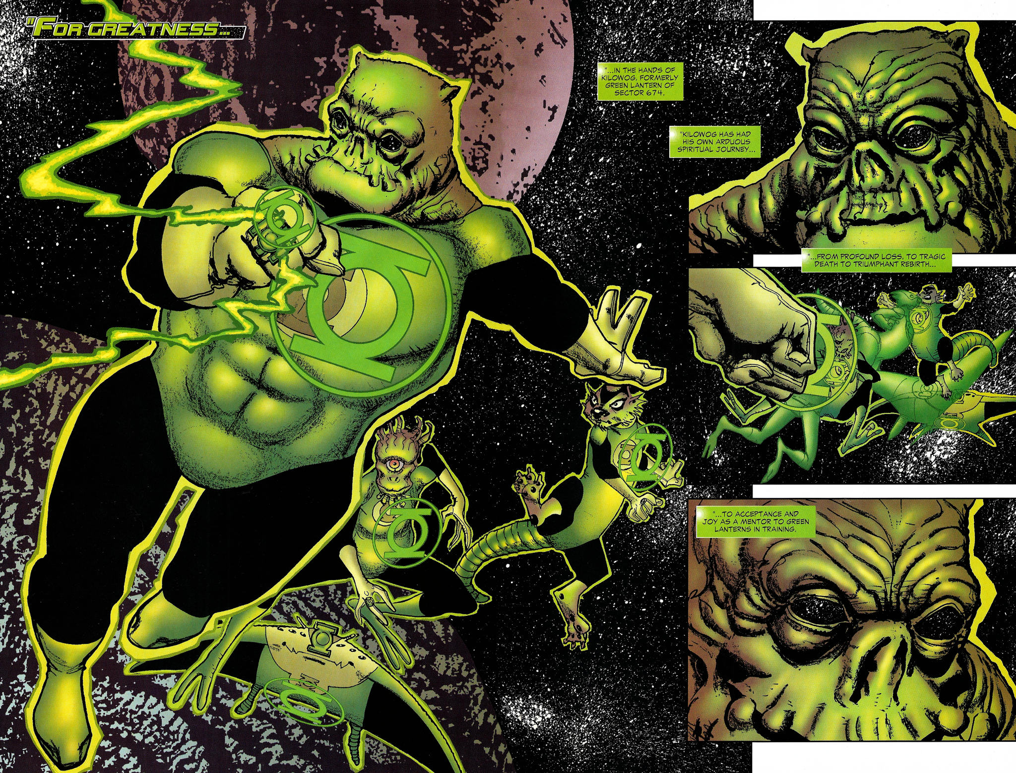 Read online Guy Gardner: Collateral Damage comic -  Issue #1 - 5