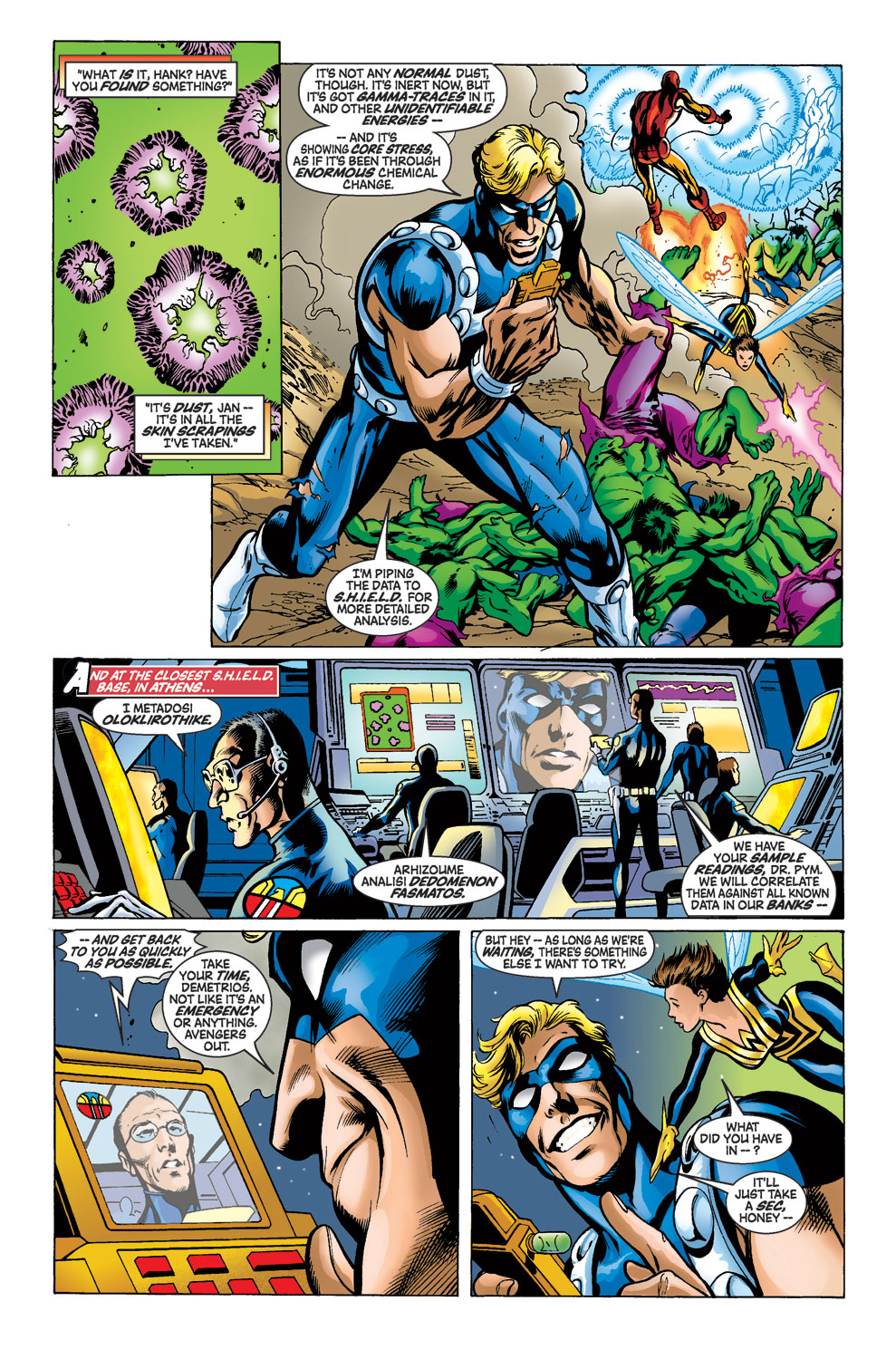Read online Avengers (1998) comic -  Issue #39 - 9