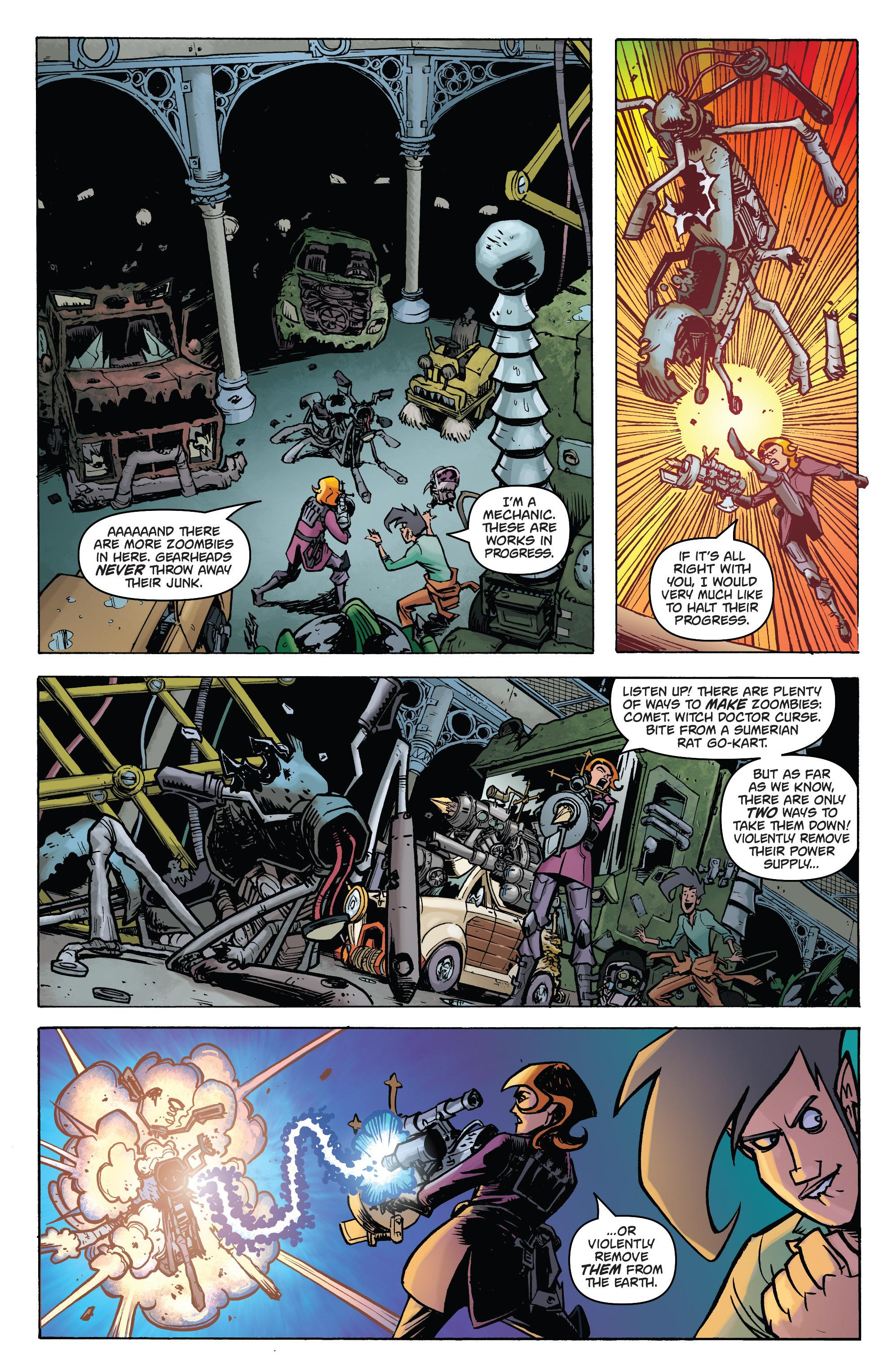Read online Monster Motors: The Curse of Minivan Helsing comic -  Issue #2 - 6