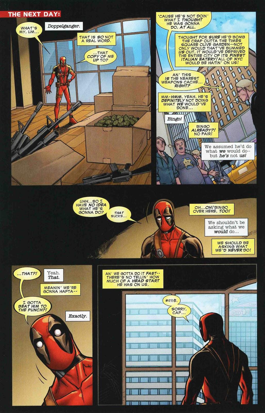 Read online Deadpool (2008) comic -  Issue #47 - 16