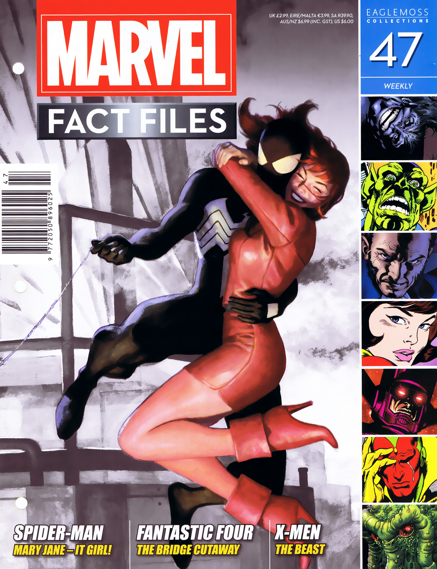 Marvel Fact Files 47 Page 1