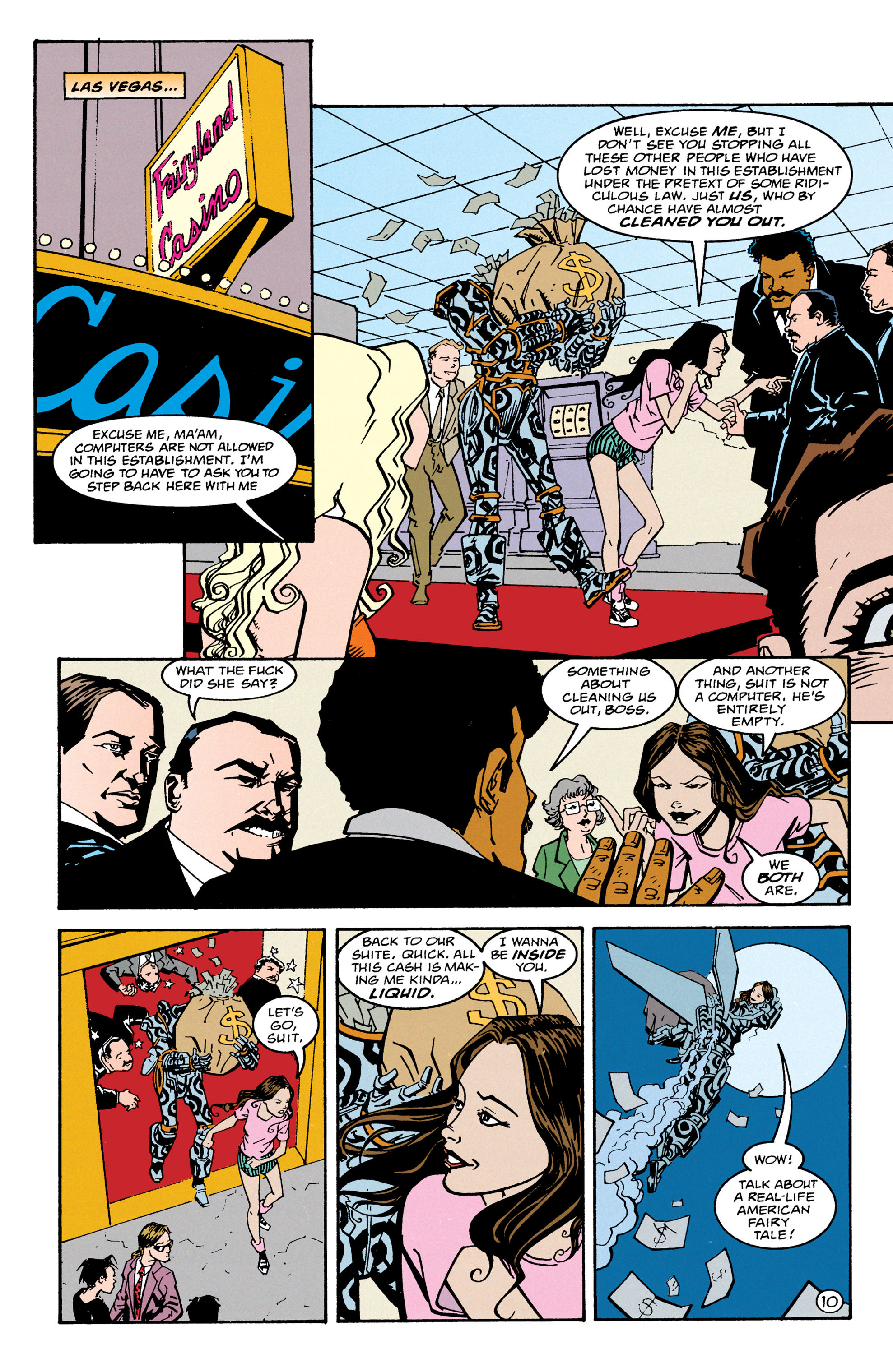 Read online Shade, the Changing Man comic -  Issue #67 - 11