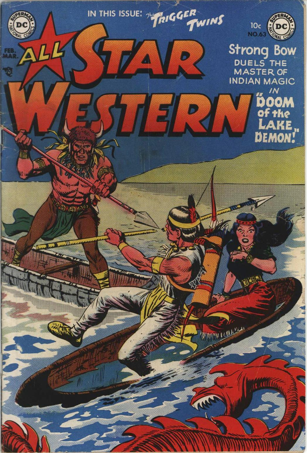 Read online All-Star Western (1951) comic -  Issue #63 - 1