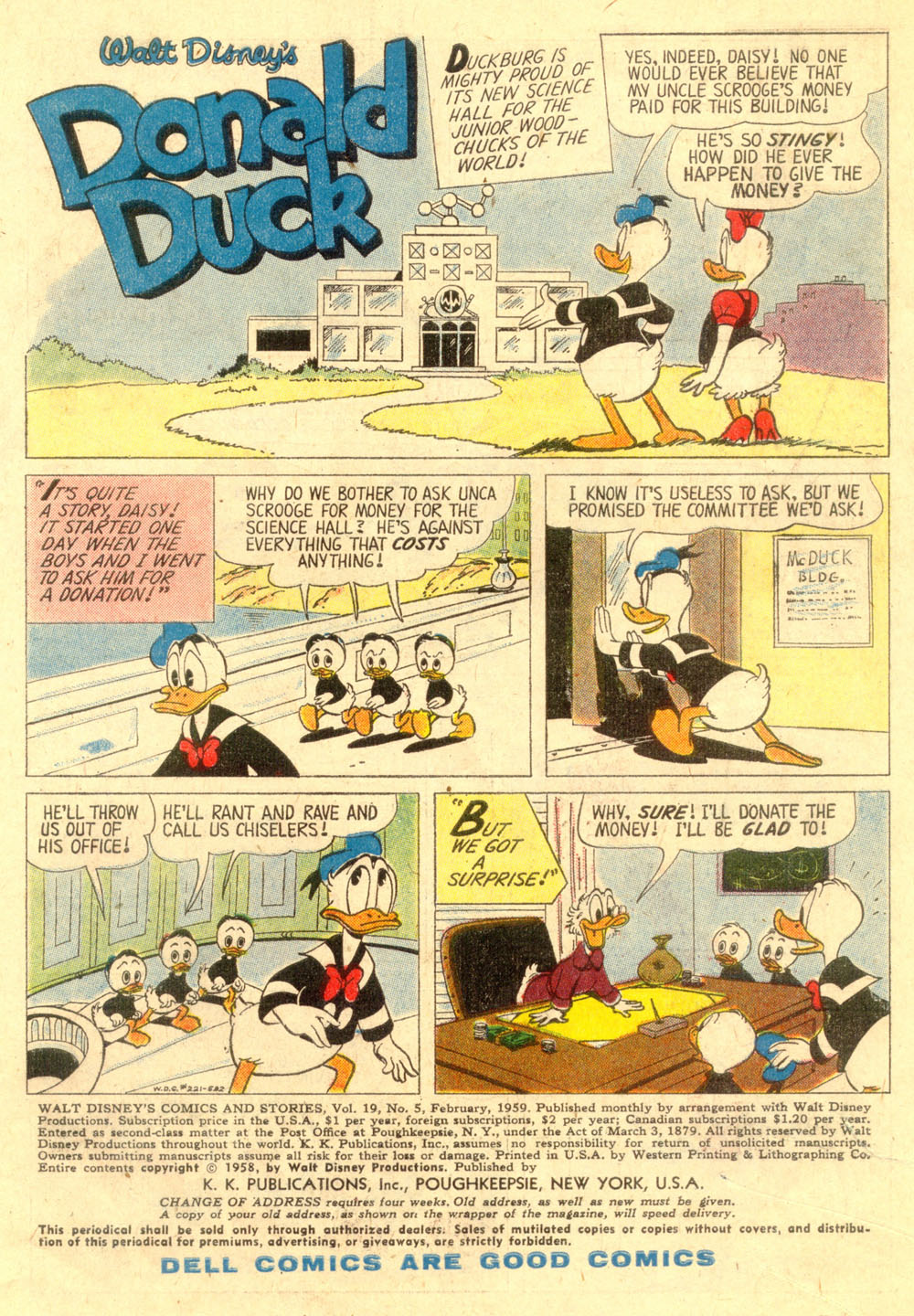 Walt Disney's Comics and Stories issue 221 - Page 3