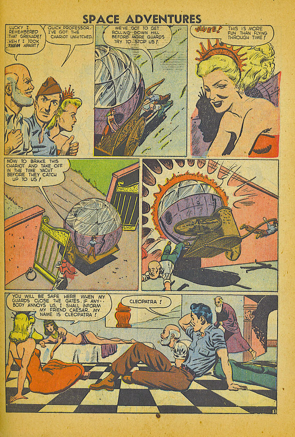 Space Adventures (1952) issue 3 - Page 28