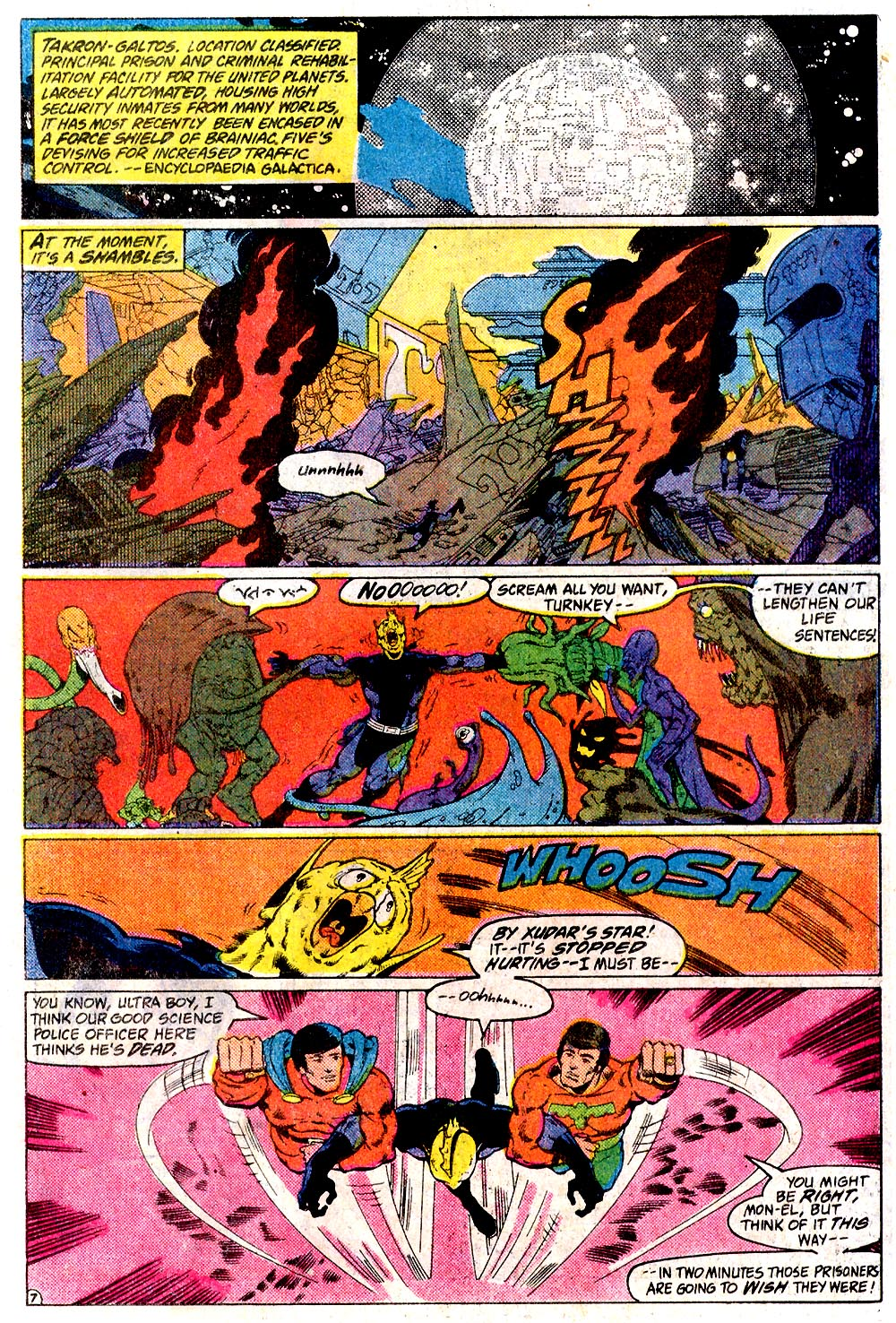 Legion of Super-Heroes (1980) 291 Page 7