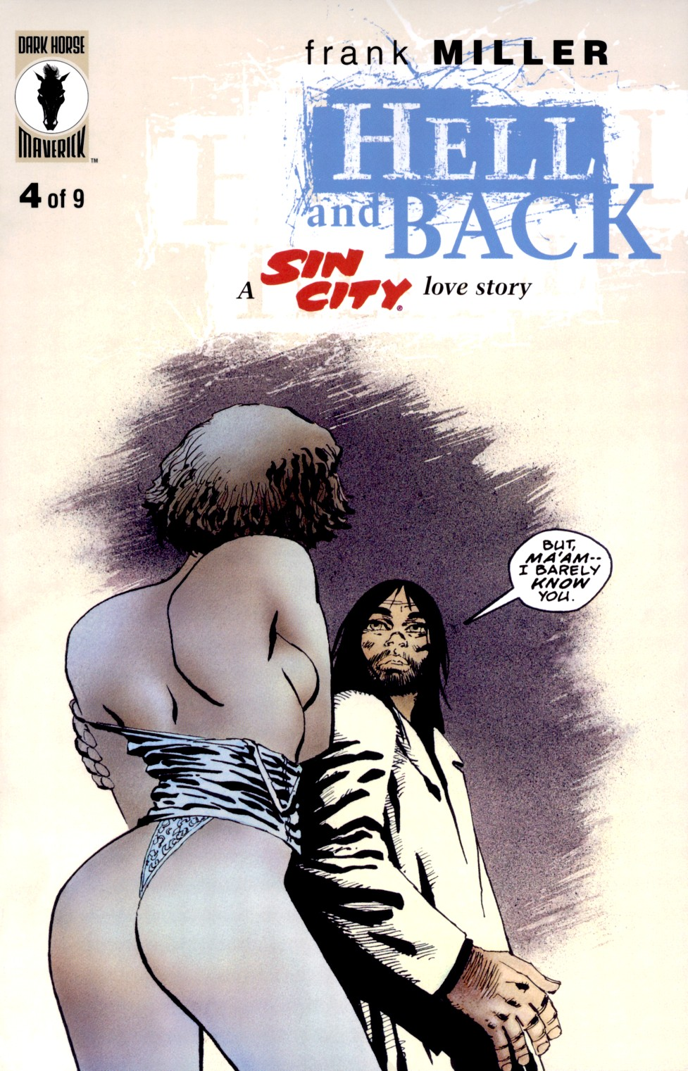 Read online Sin City: Hell and Back comic -  Issue #4 - 1