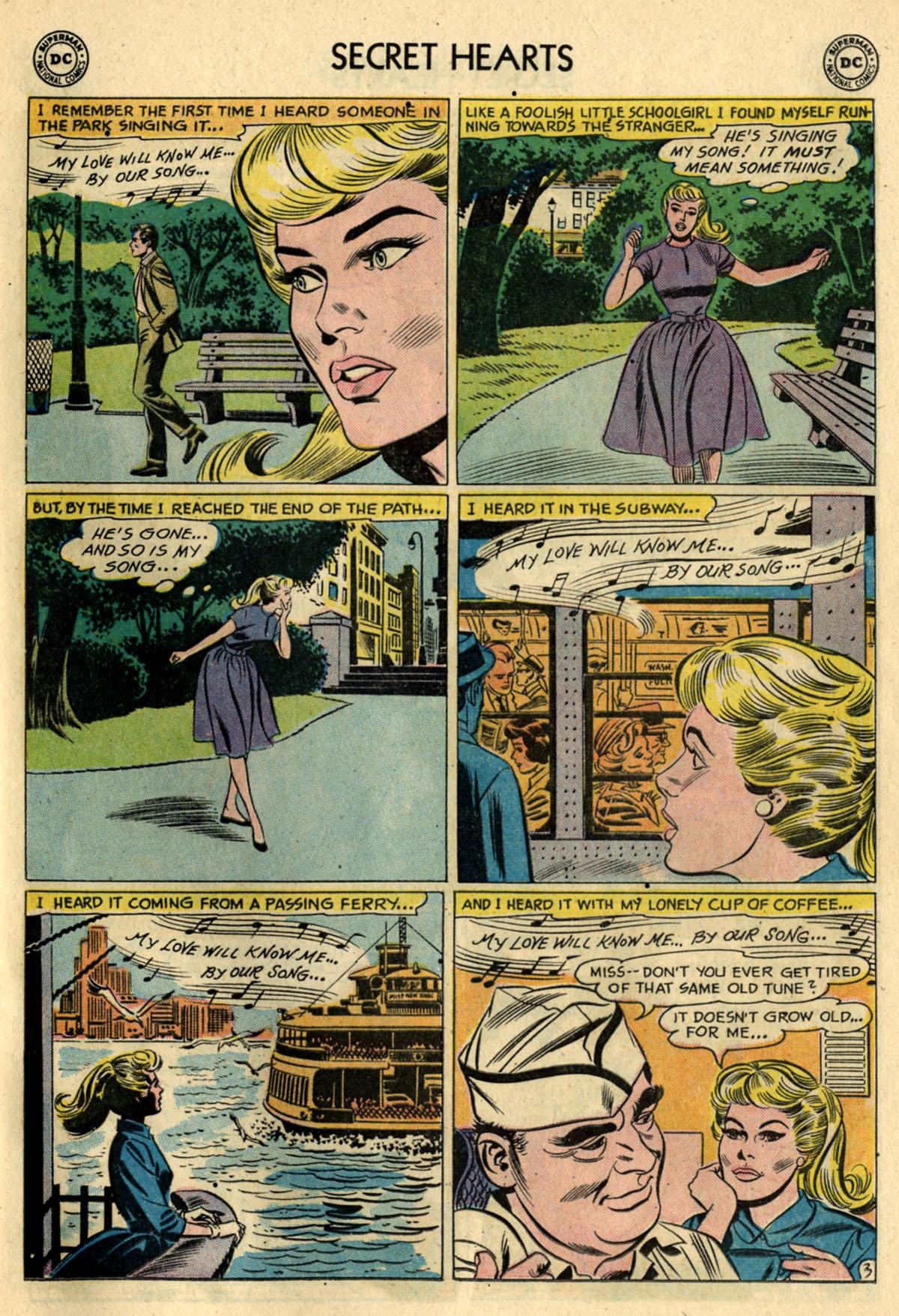 Read online Secret Hearts comic -  Issue #83 - 29