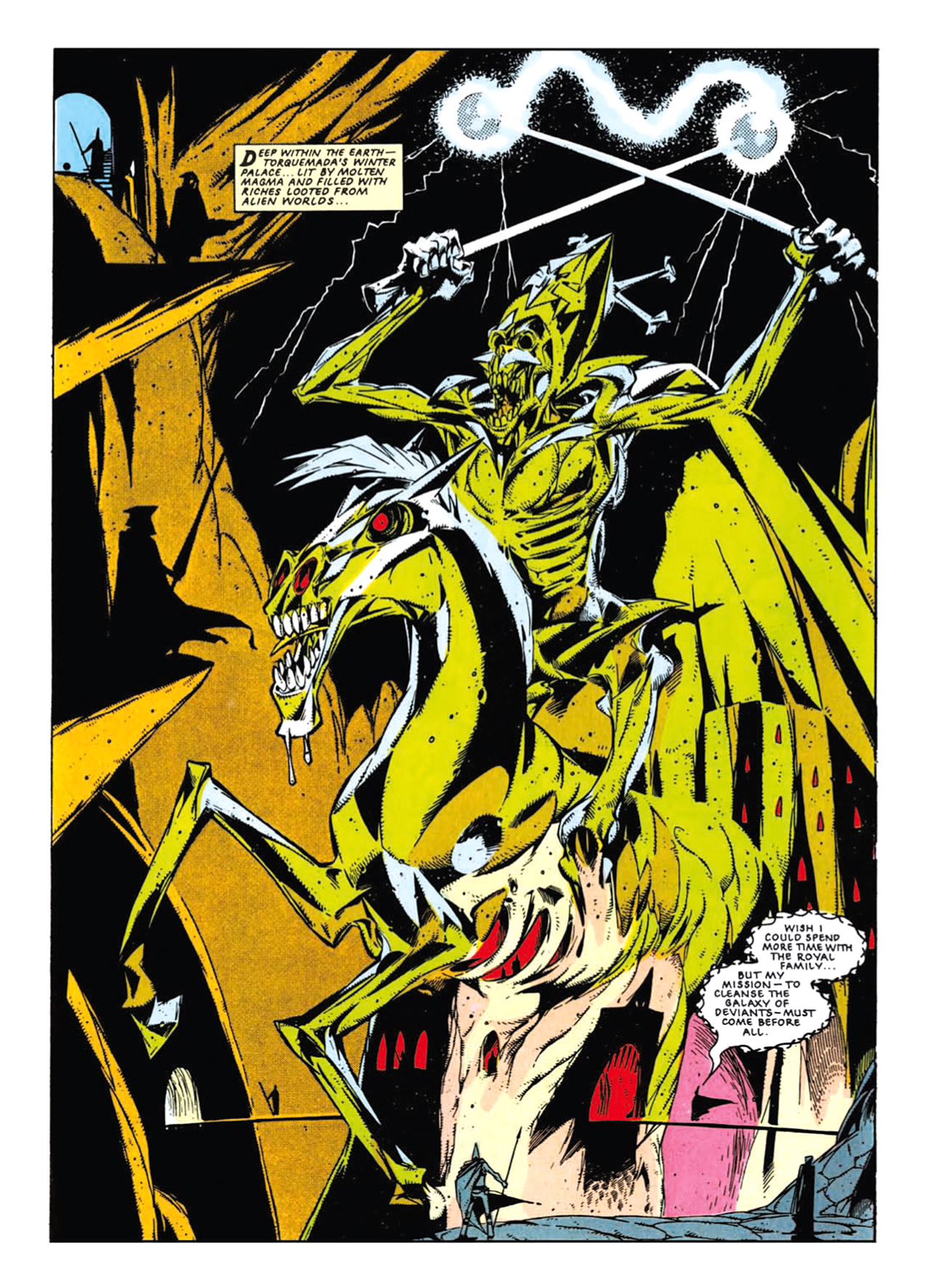 Read online Nemesis The Warlock comic -  Issue # TPB Deviant Edition - 98
