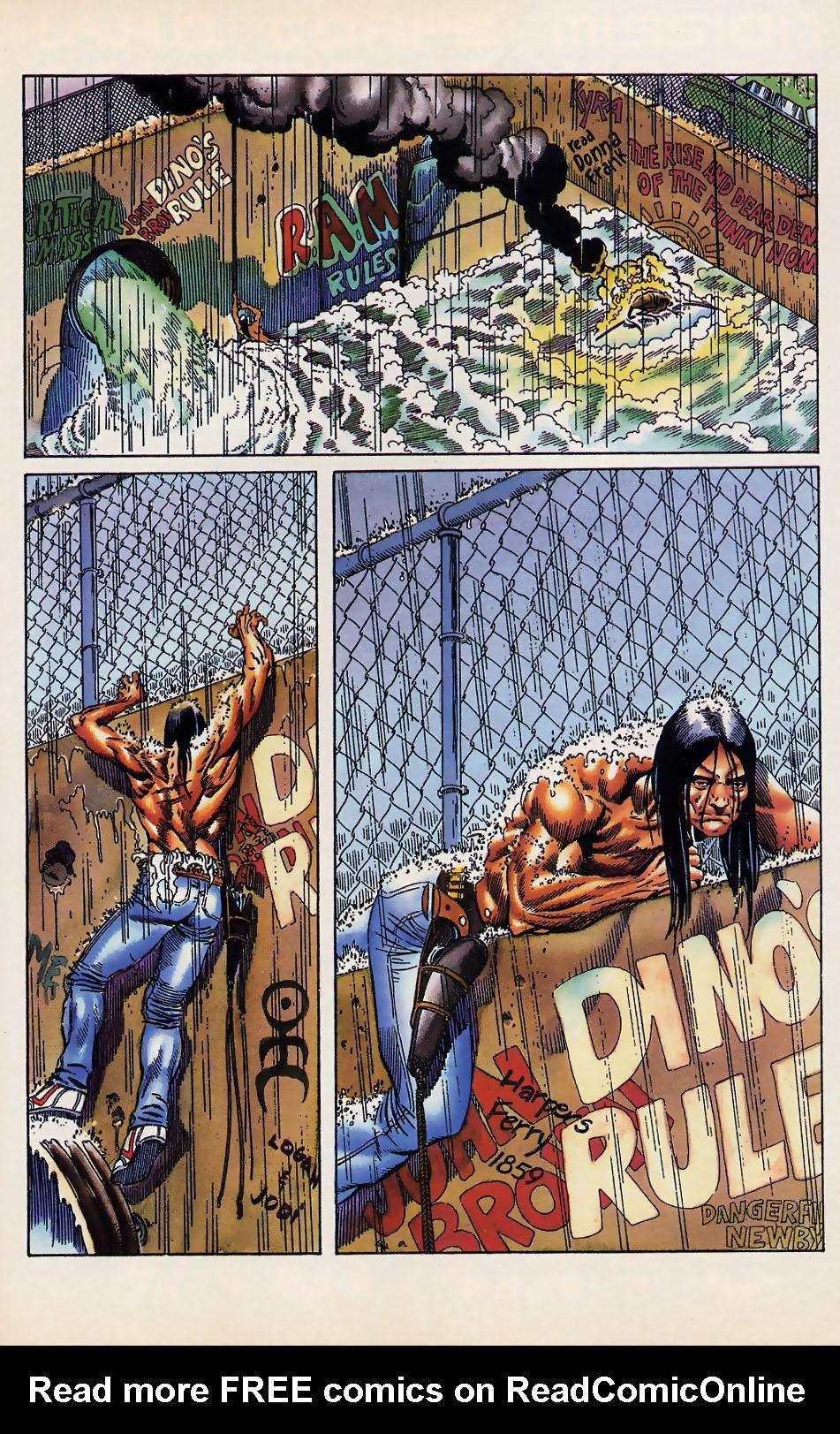 Read online Turok, Dinosaur Hunter (1993) comic -  Issue #12 - 22