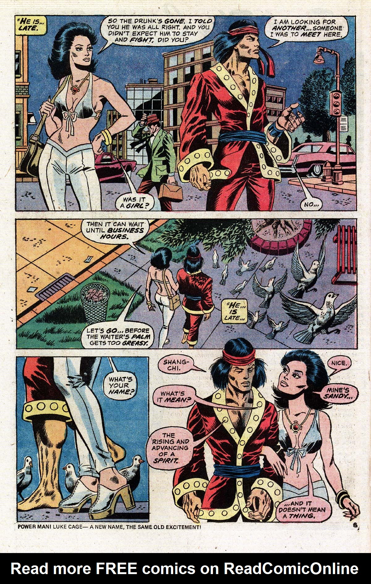 Read online Giant-Size Master of Kung Fu comic -  Issue #2 - 5