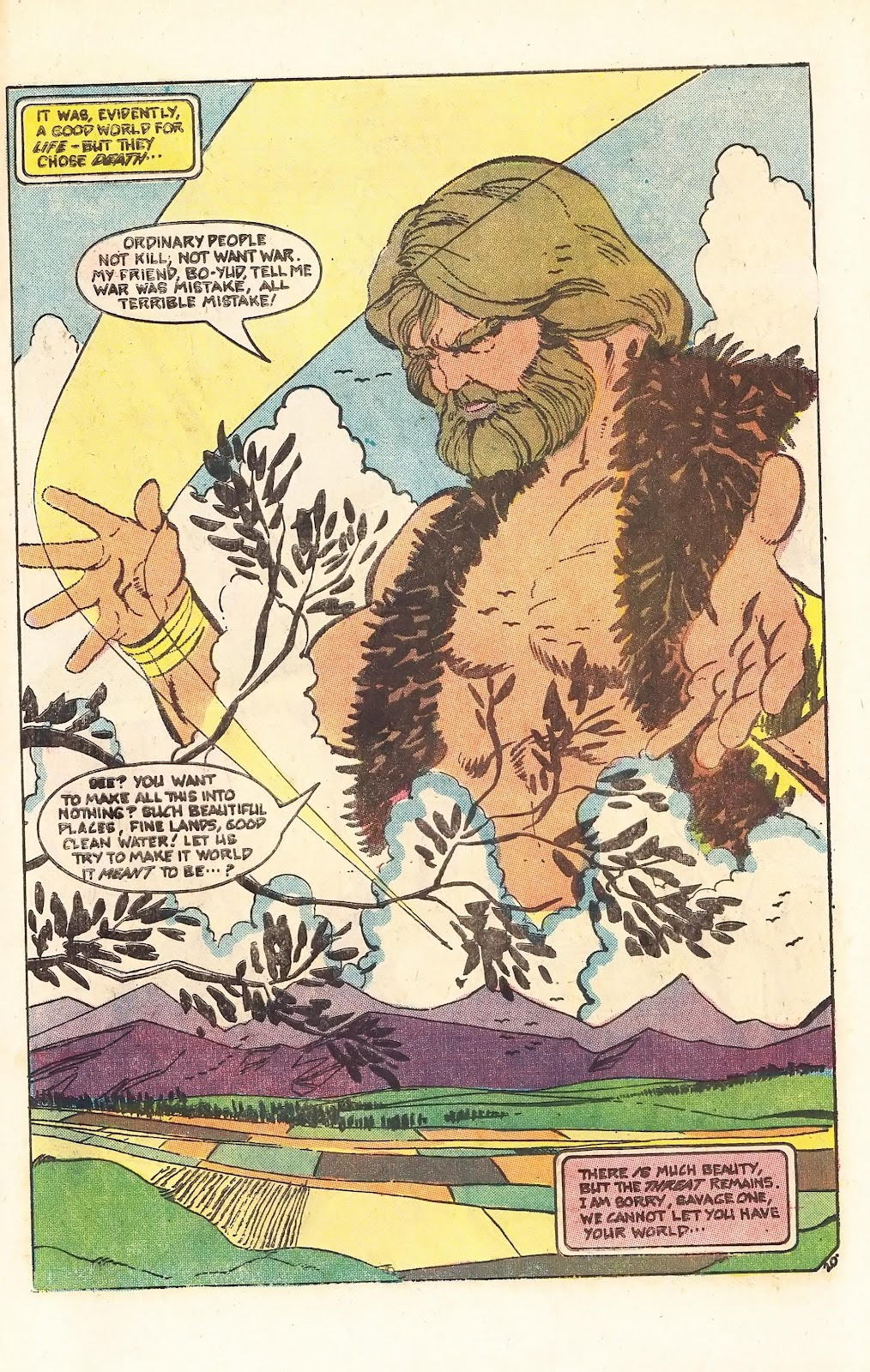 Read online Doomsday   1 (1975) comic -  Issue #3 - 26