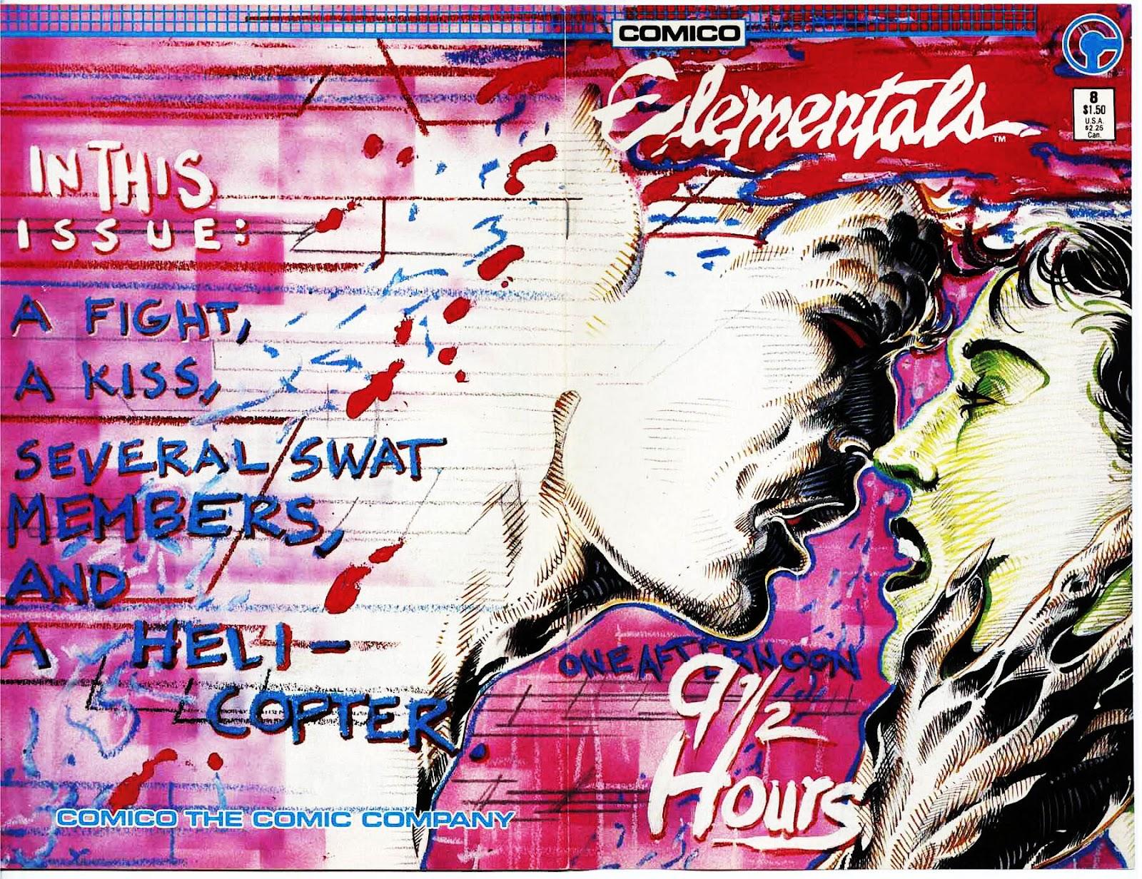 Elementals (1984) issue 8 - Page 1