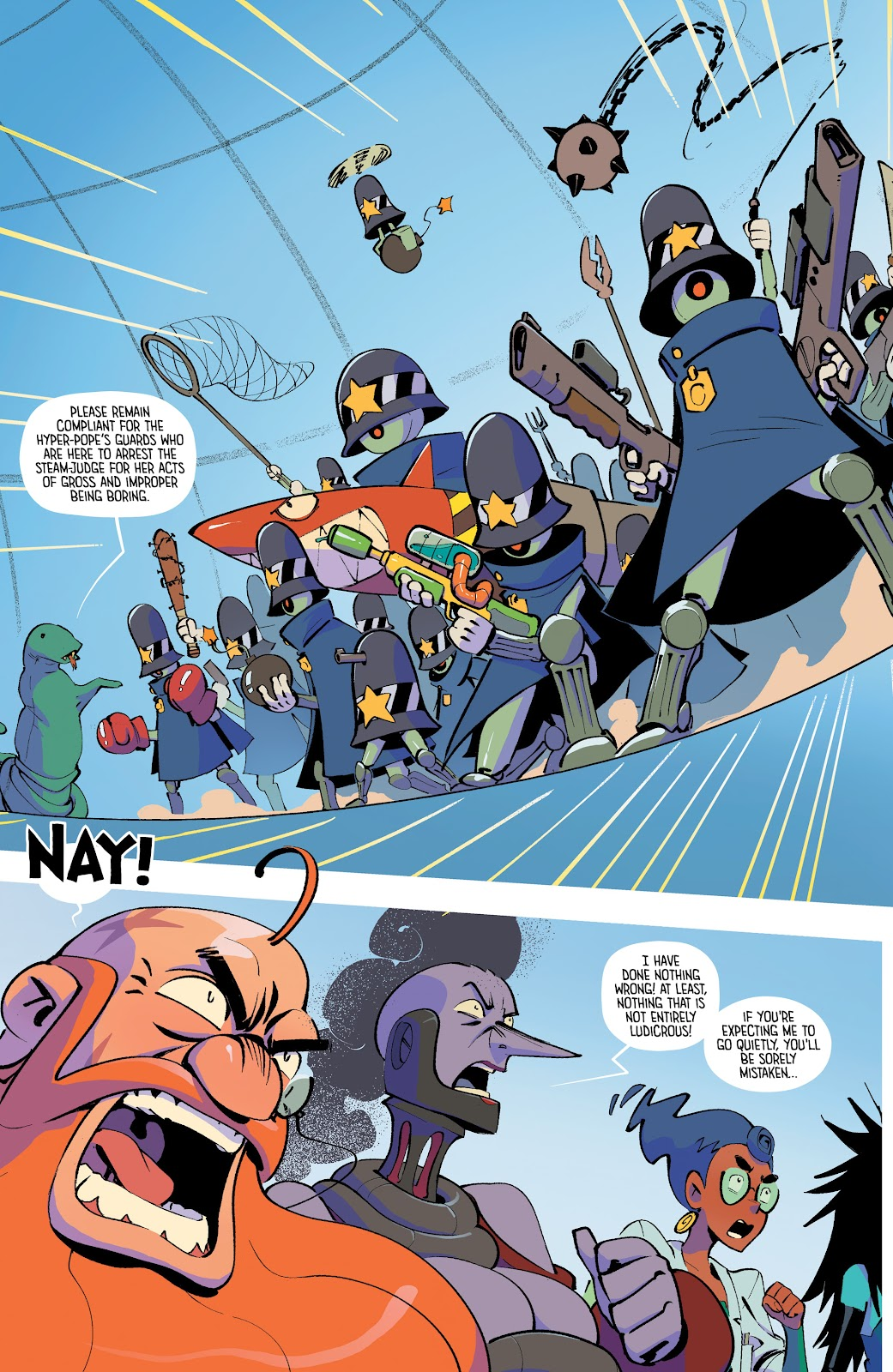 Read online The Ludocrats comic -  Issue #1 - 19