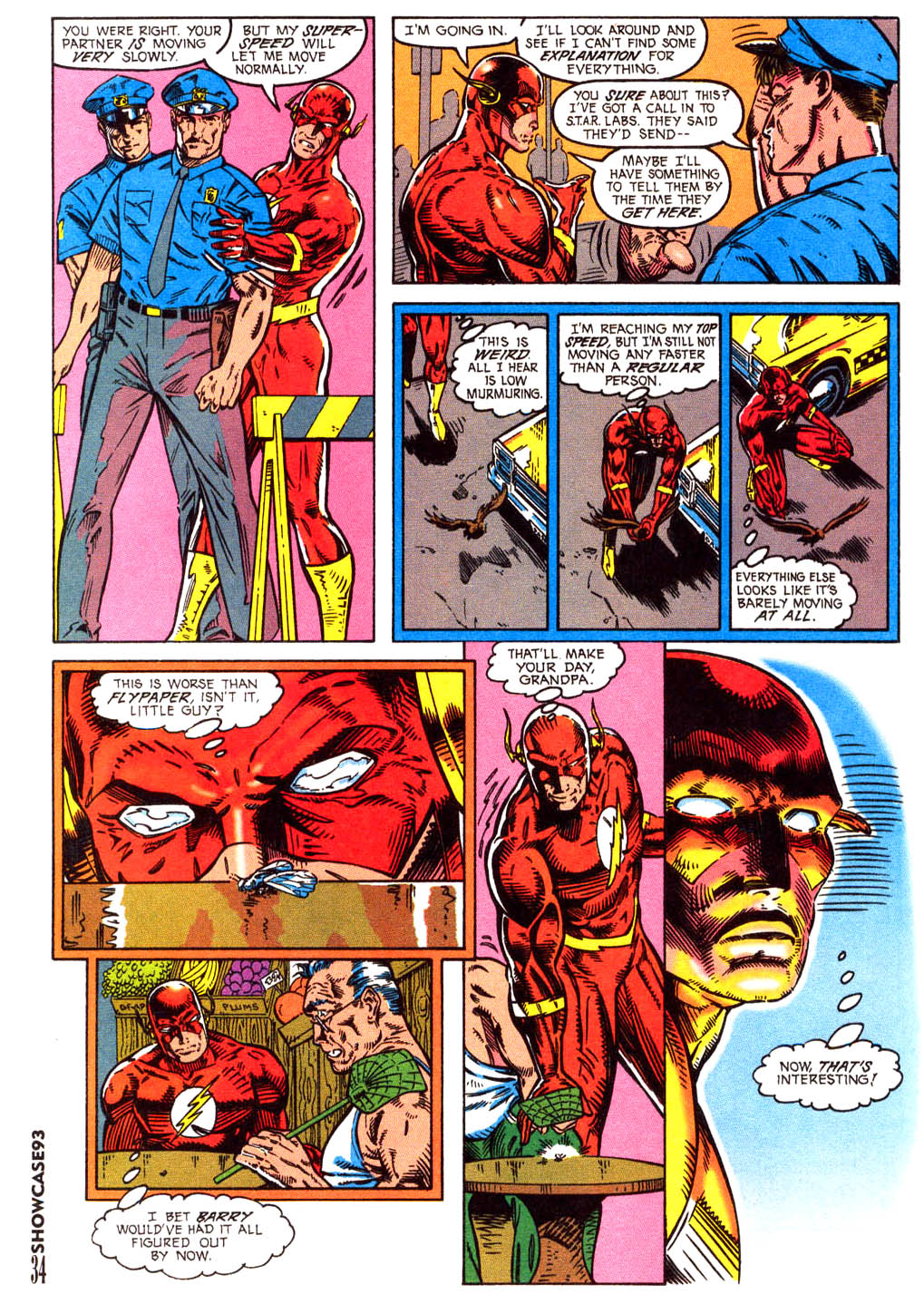 Read online Showcase '93 comic -  Issue #3 - 31