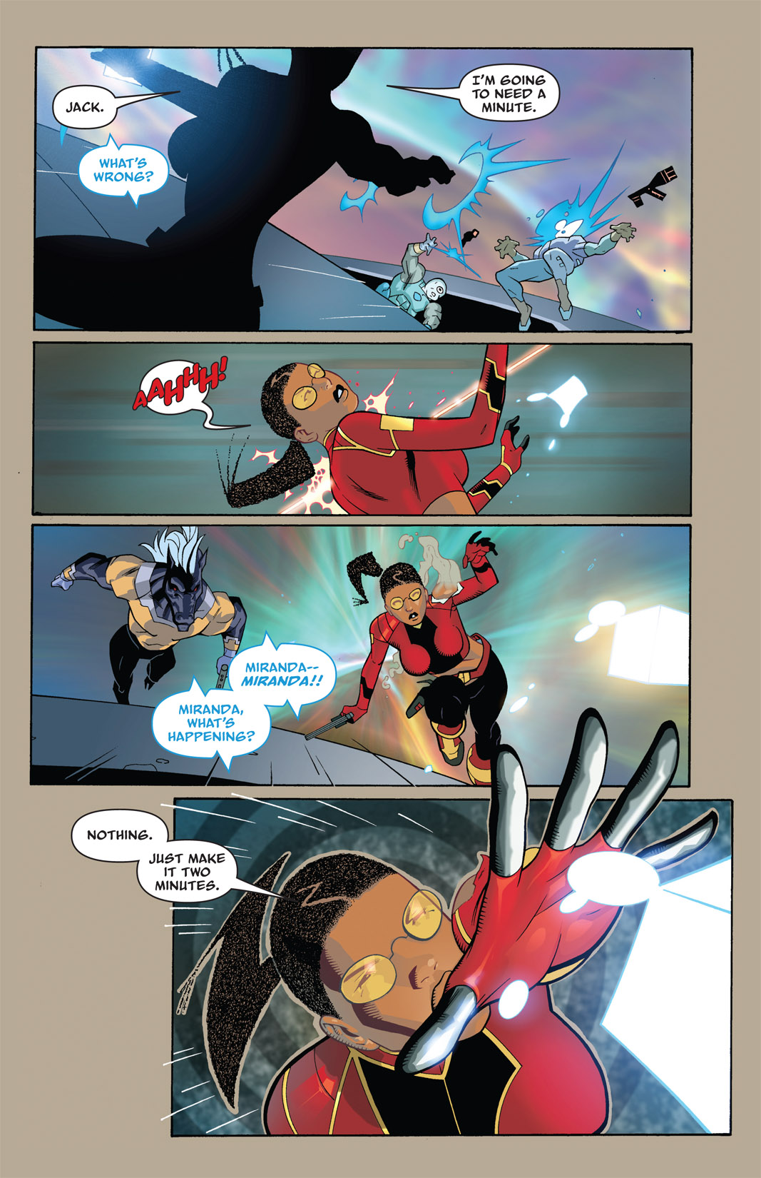 Read online The Many Adventures of Miranda Mercury: Time Runs Out comic -  Issue # TPB - 20