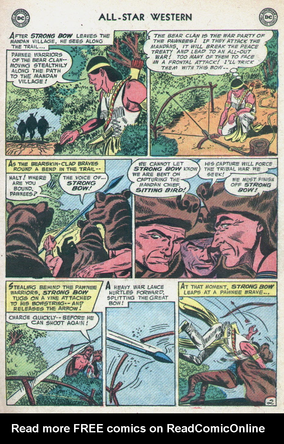 Read online All-Star Western (1951) comic -  Issue #90 - 11