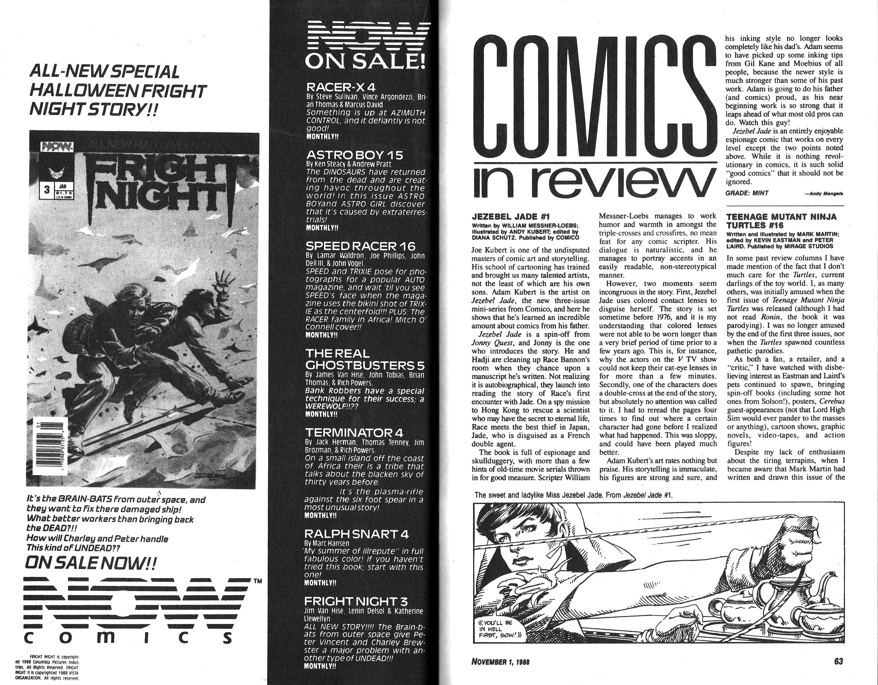 Read online Amazing Heroes comic -  Issue #152 - 40