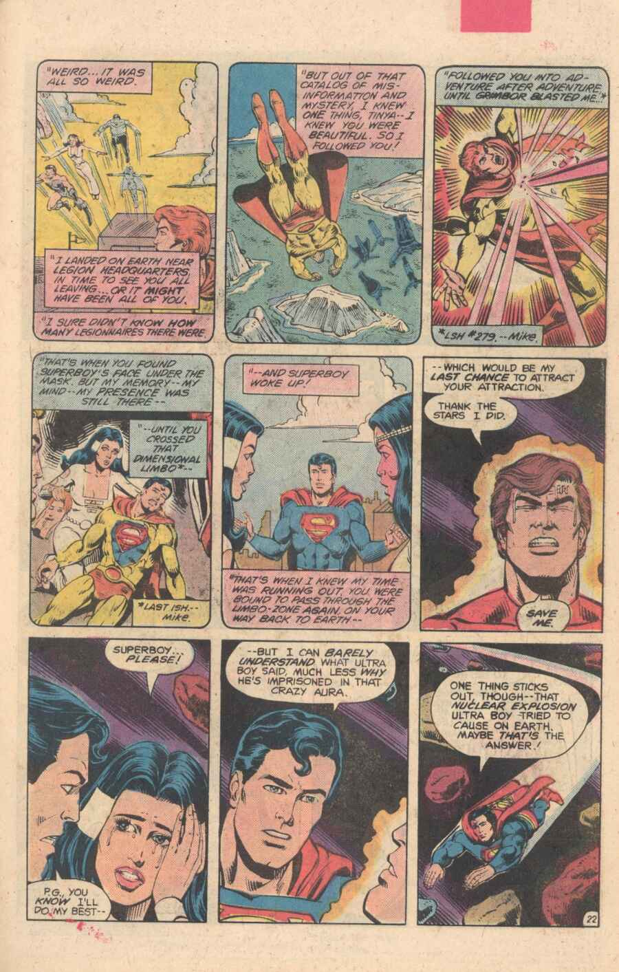 Legion of Super-Heroes (1980) 282 Page 22