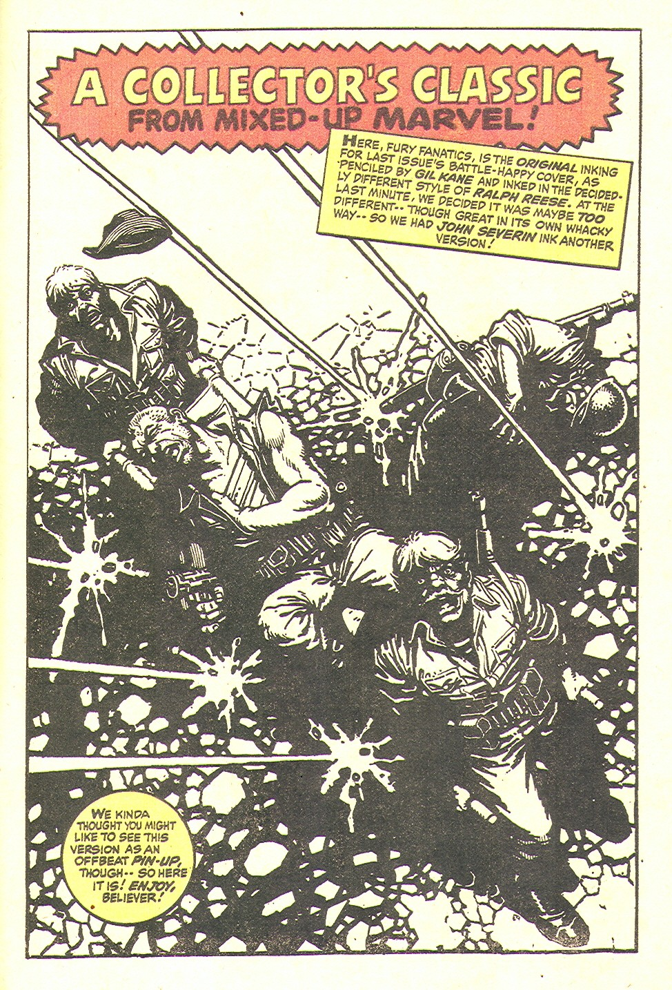 Read online Sgt. Fury comic -  Issue #97 - 33