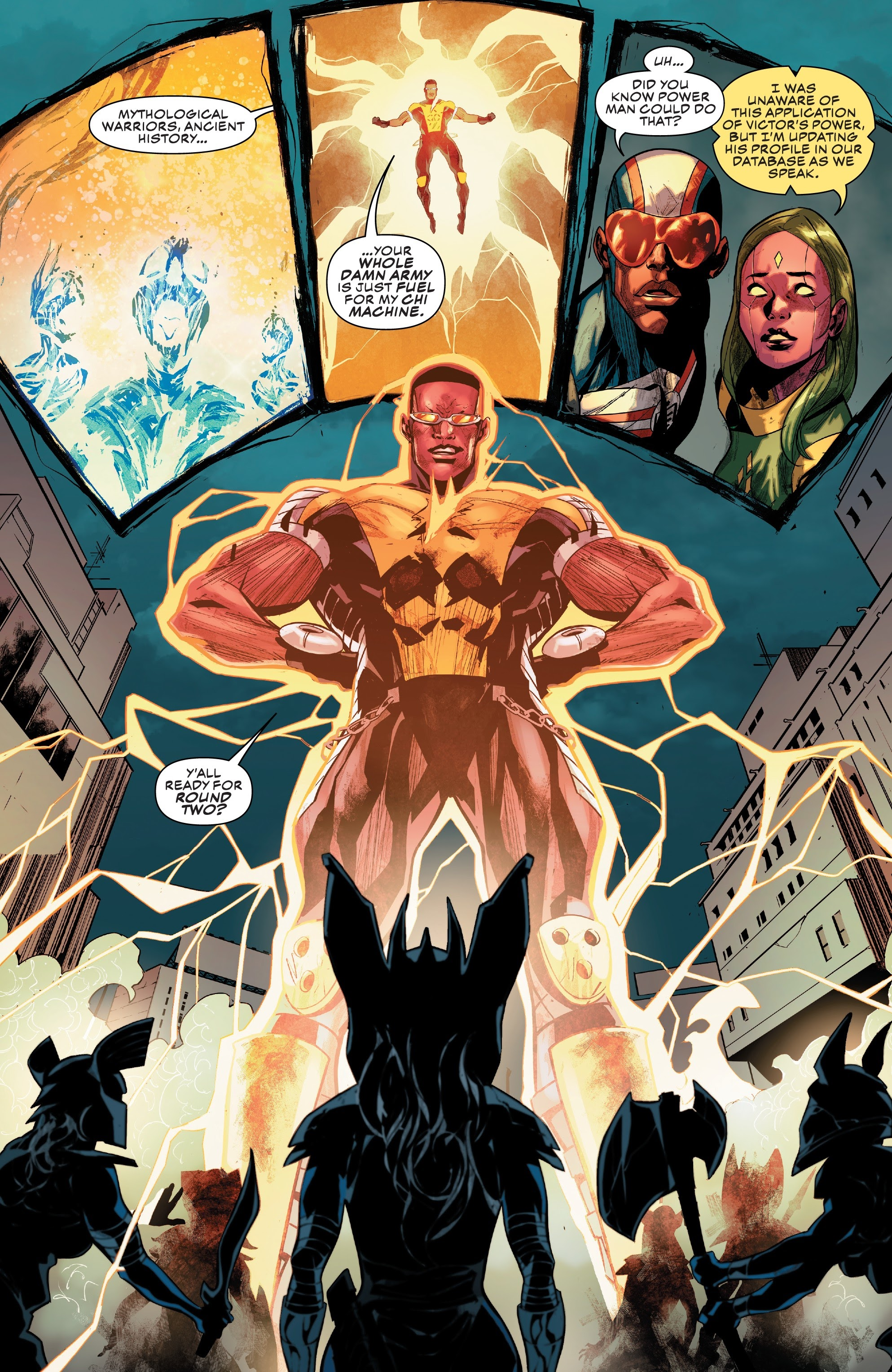 Read online Champions (2019) comic -  Issue #6 - 16