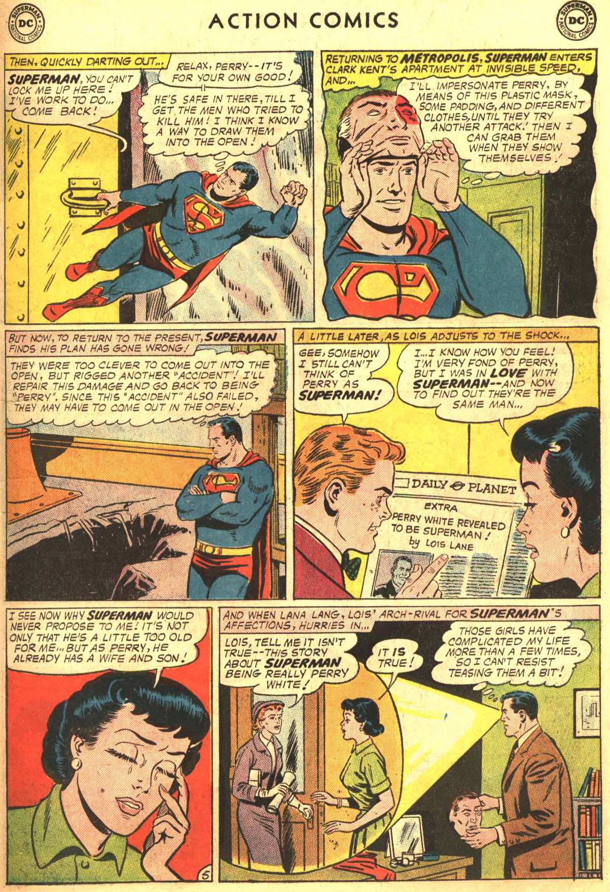 Read online Action Comics (1938) comic -  Issue #302 - 6