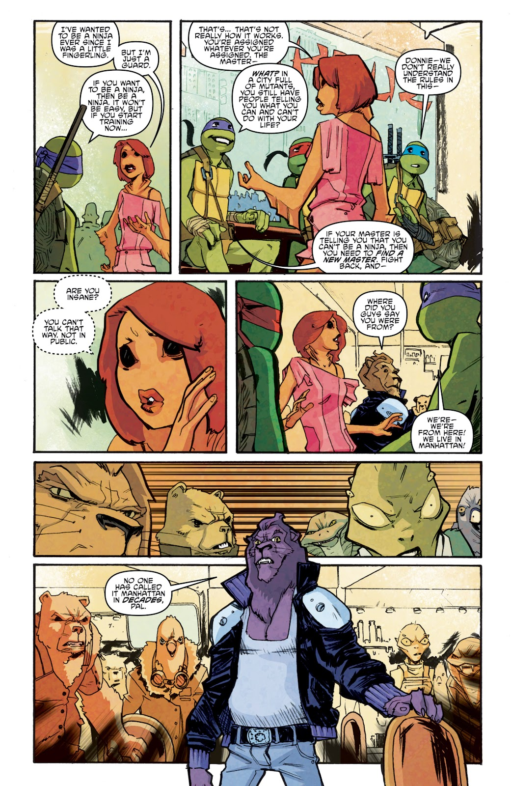 Read online Teenage Mutant Ninja Turtles: The IDW Collection comic -  Issue # TPB 5 (Part 1) - 78