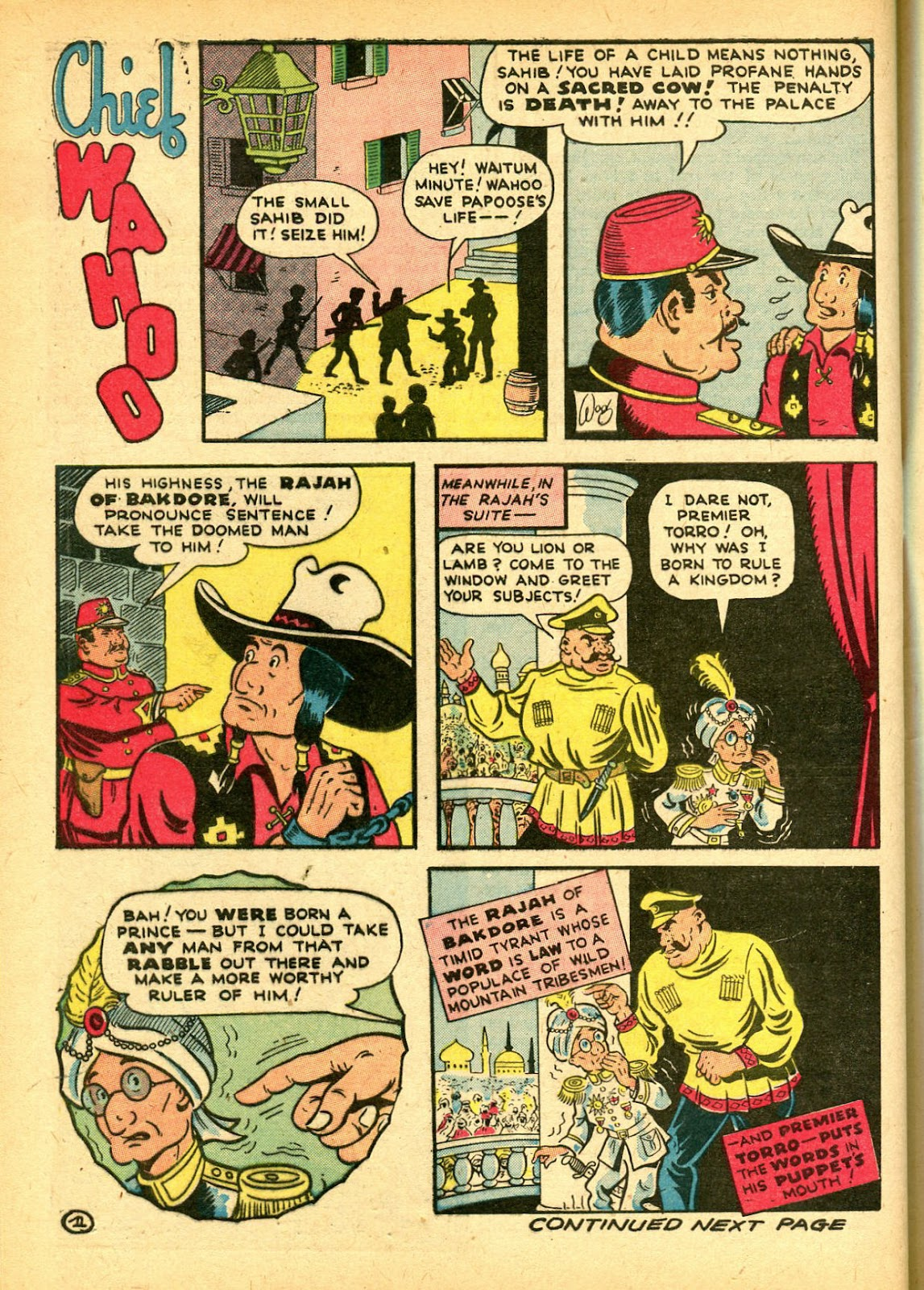 Read online Famous Funnies comic -  Issue #108 - 62