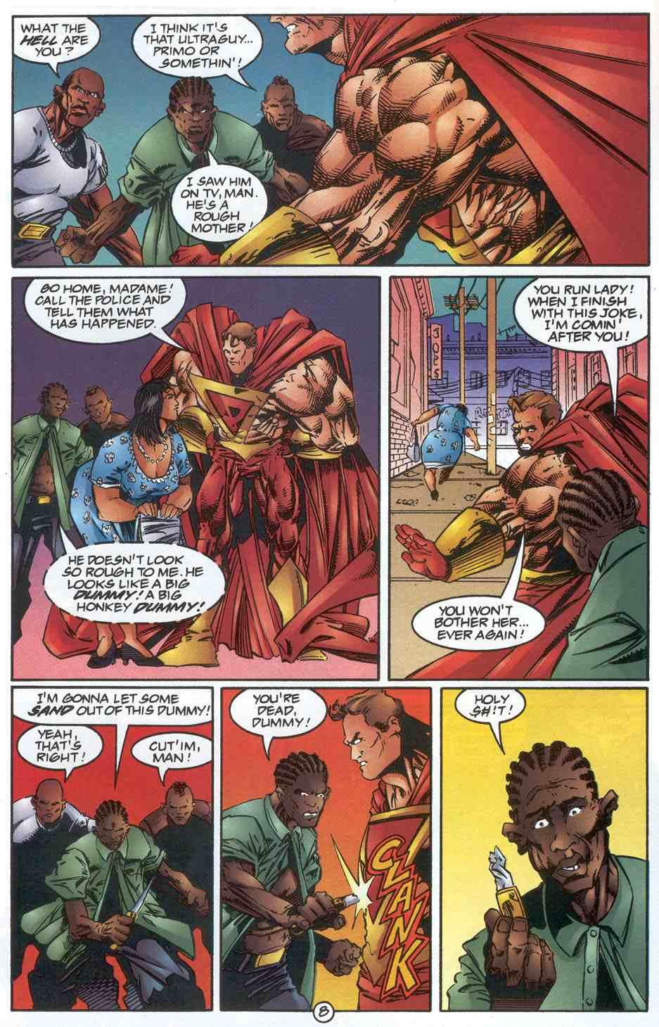 Read online Ultraverse Premiere comic -  Issue #3 - 10