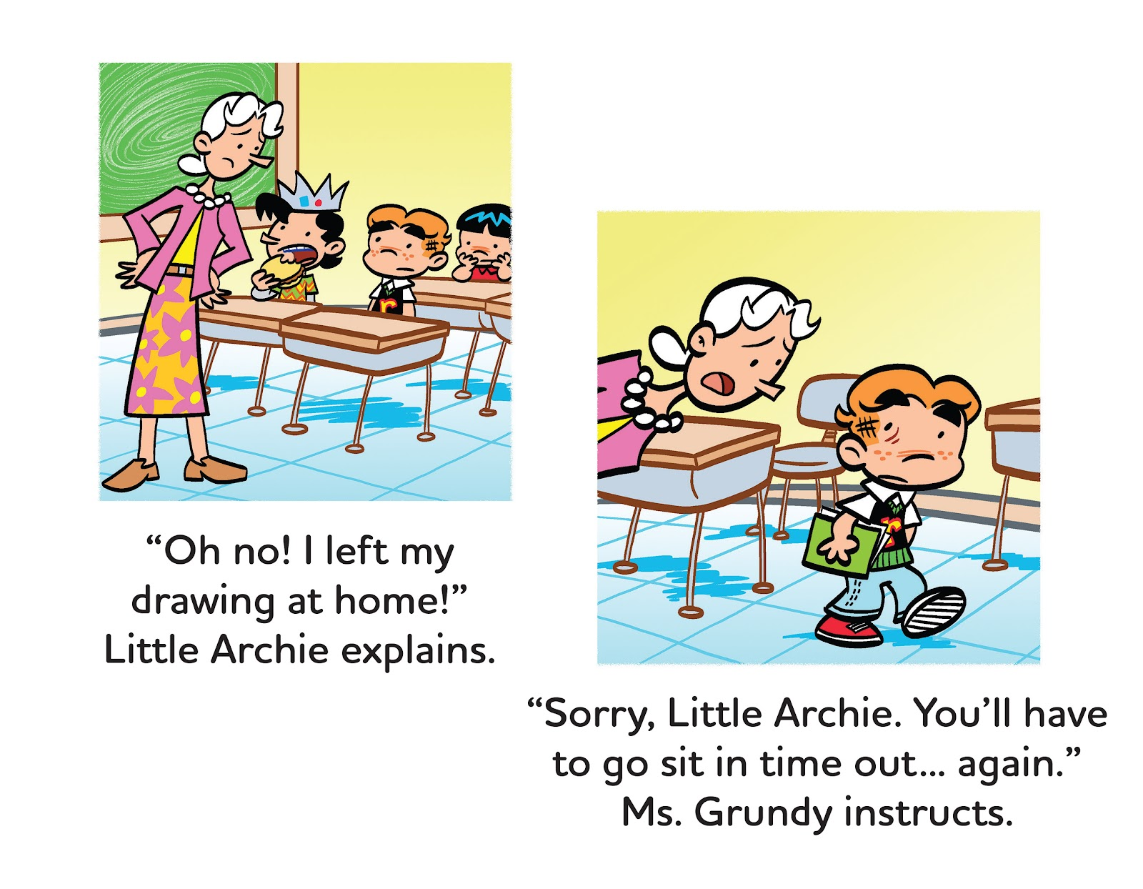 Read online Little Archie's Lucky Day comic -  Issue # Full - 14