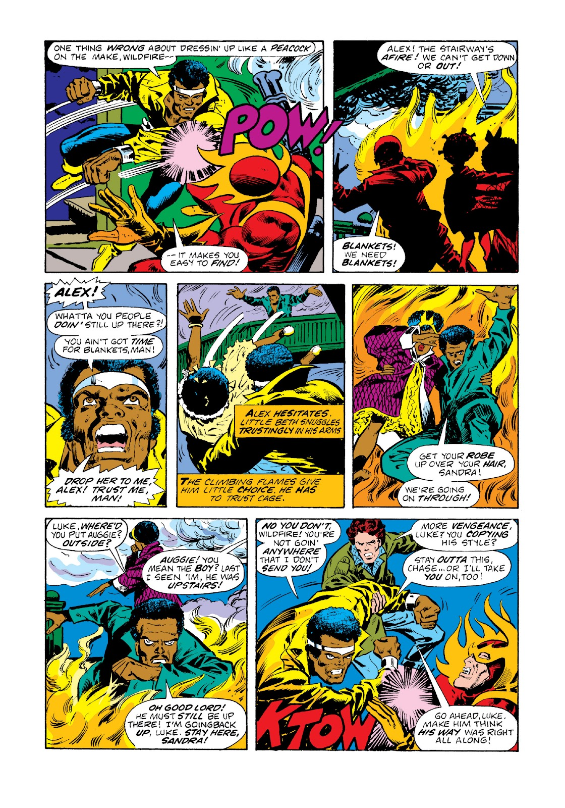 Read online Marvel Masterworks: Luke Cage, Power Man comic -  Issue # TPB 3 (Part 1) - 25
