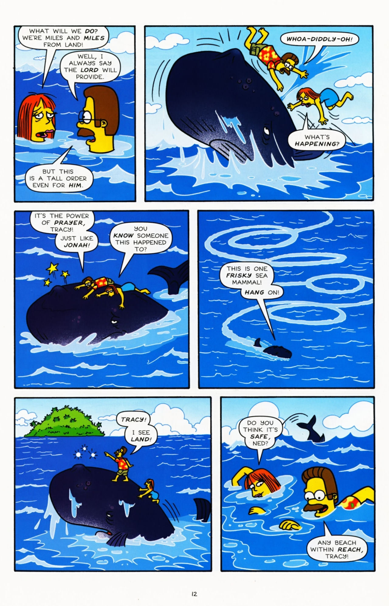 Read online Simpsons Comics comic -  Issue #181 - 11