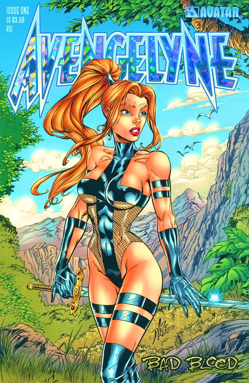 Read online Avengelyne: Bad Blood comic -  Issue #1 - 3