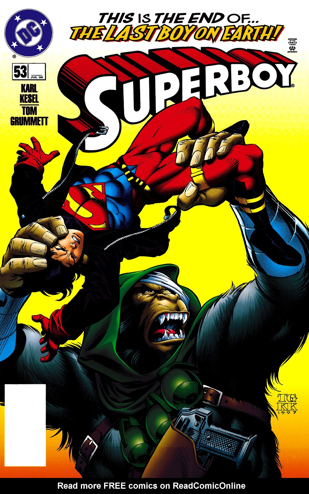Superboy (1994) 53 Page 1