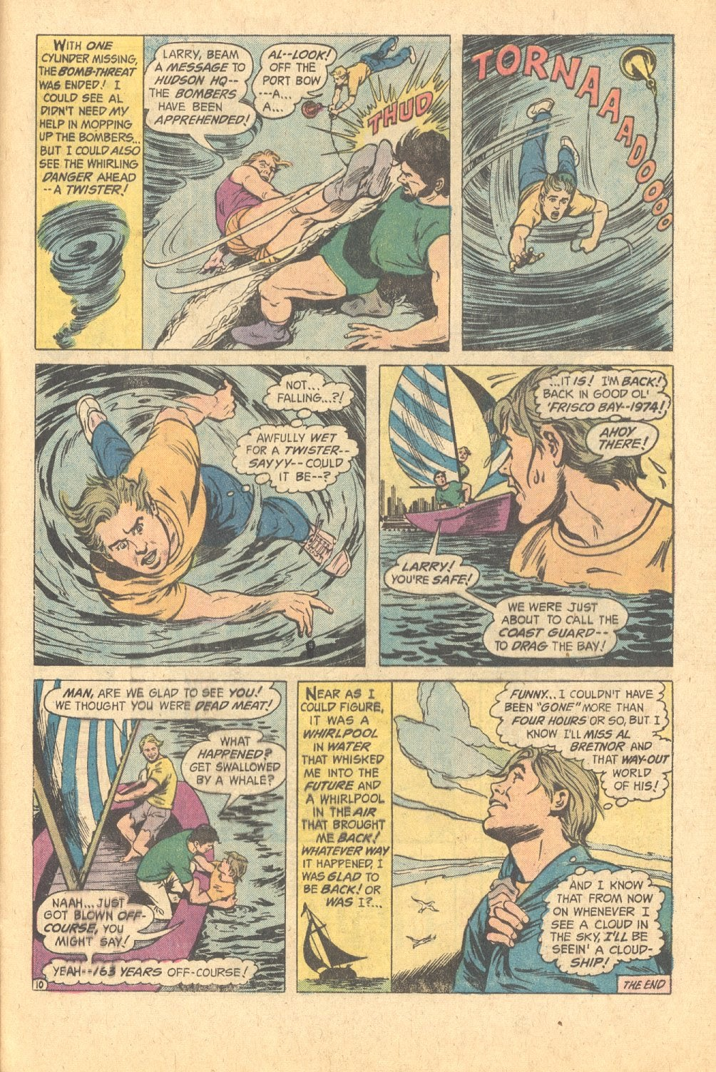 Read online Strange Sports Stories (1973) comic -  Issue #6 - 24