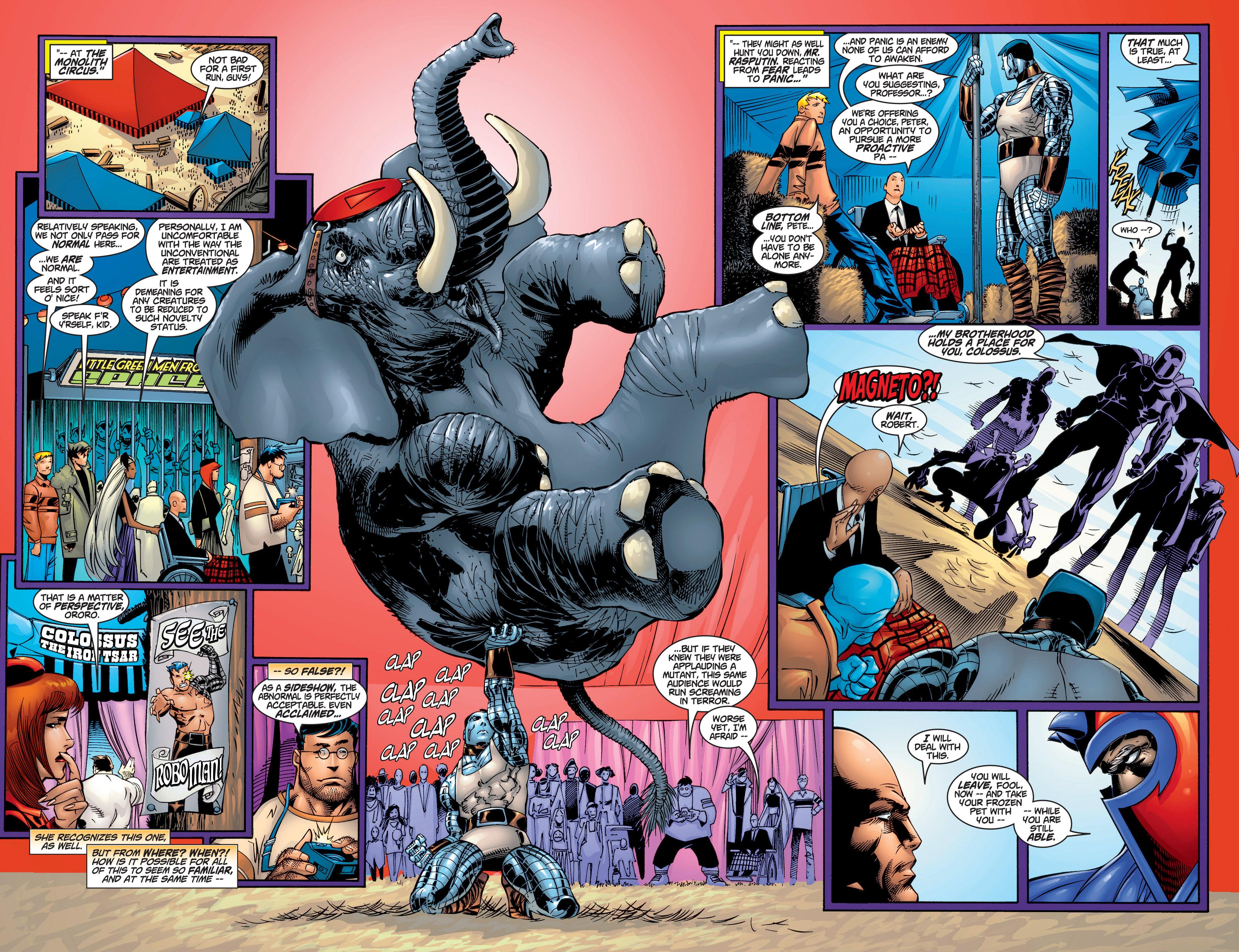 Read online Uncanny X-Men (1963) comic -  Issue #378 - 12
