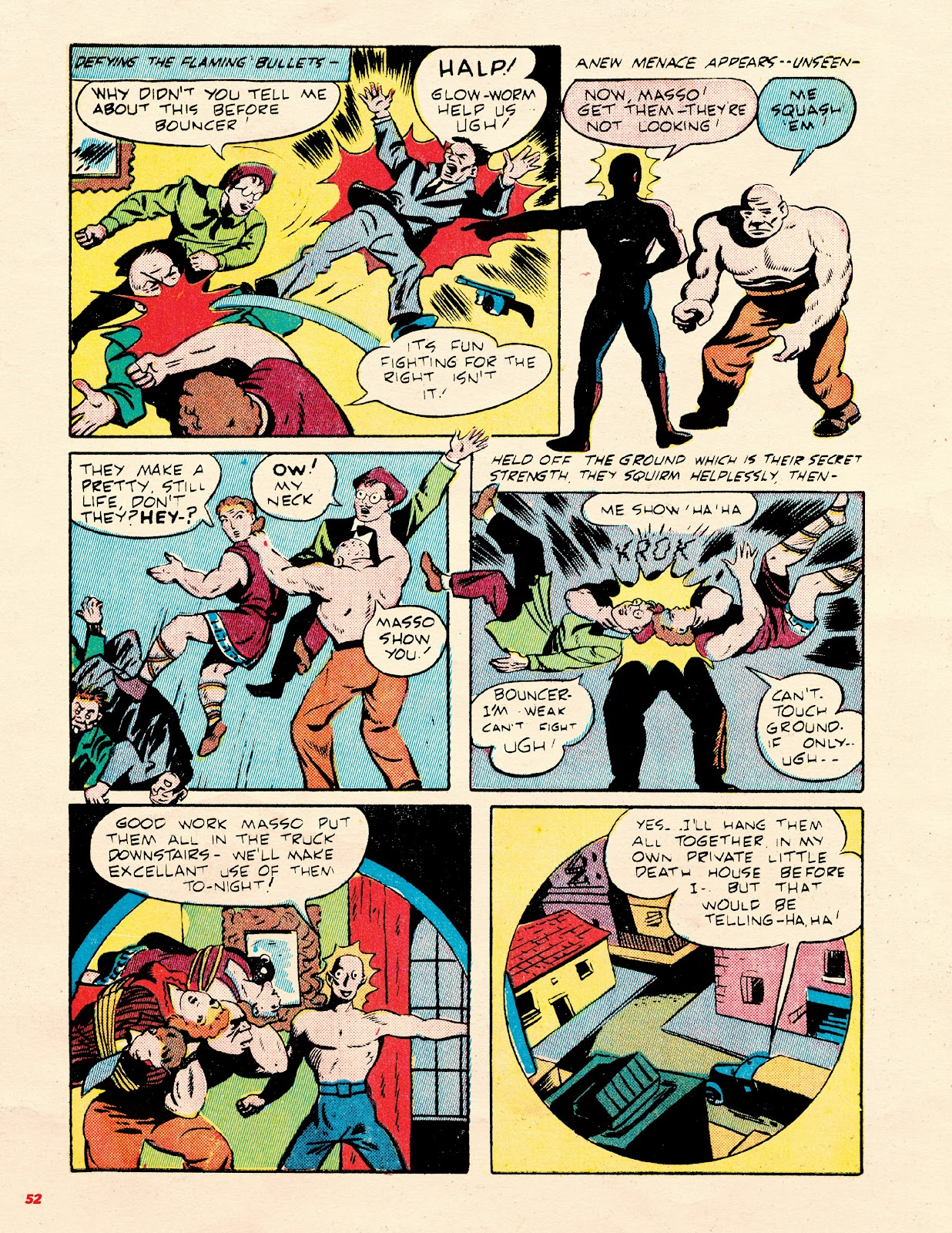 Read online Super Weird Heroes comic -  Issue # TPB 2 (Part 1) - 52