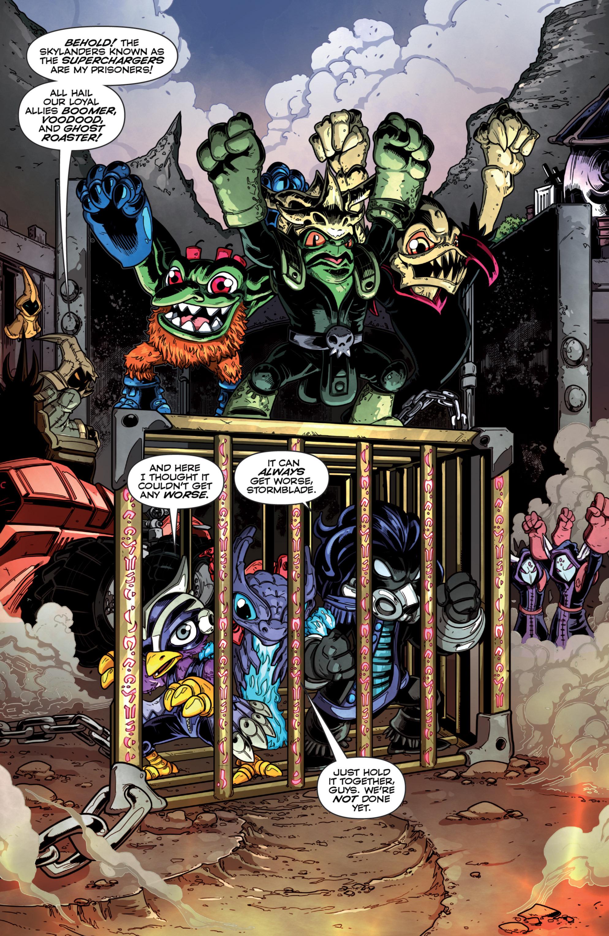 Read online Skylanders Superchargers comic -  Issue #2 - 4