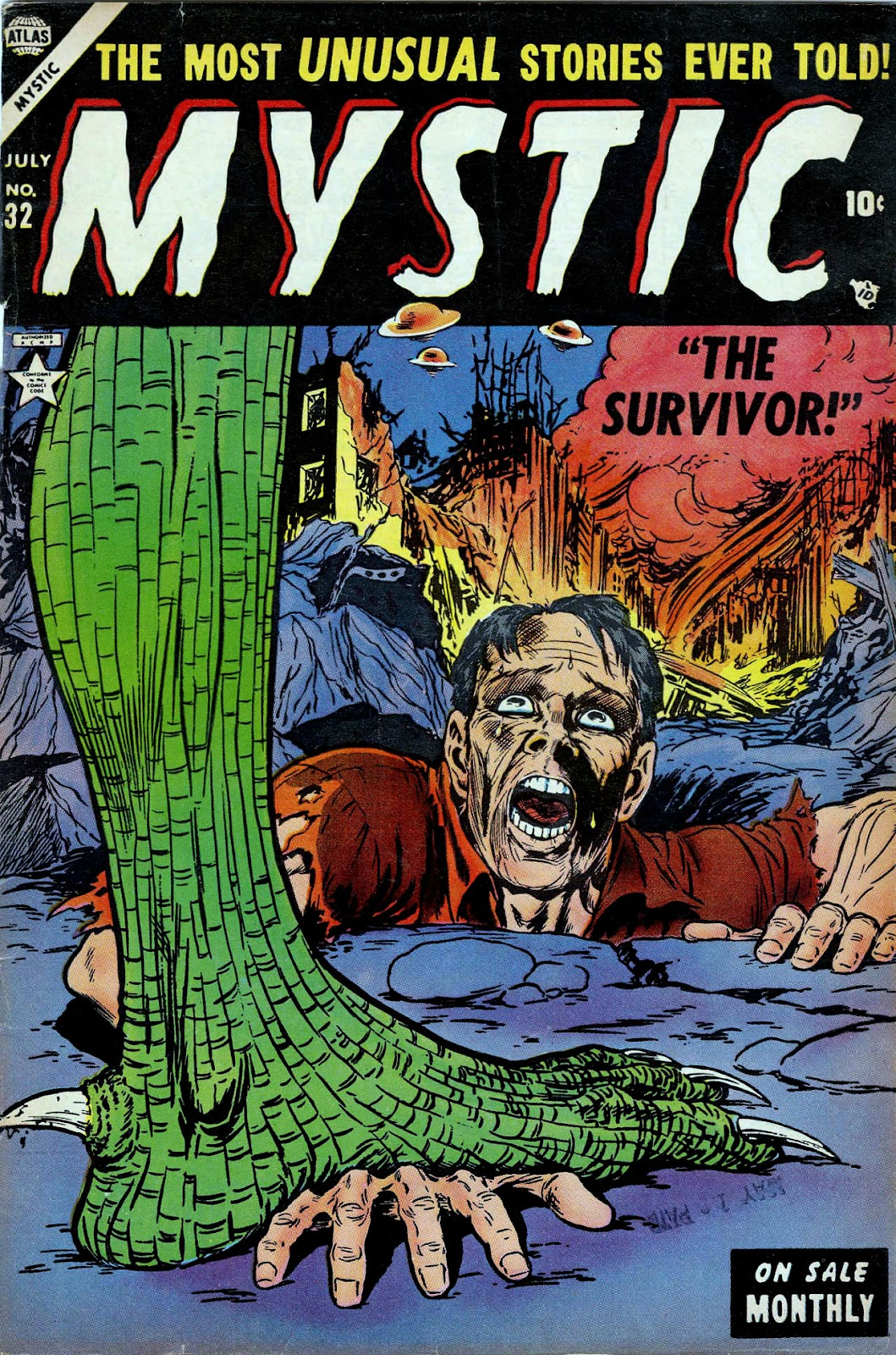 Mystic (1951) issue 32 - Page 1