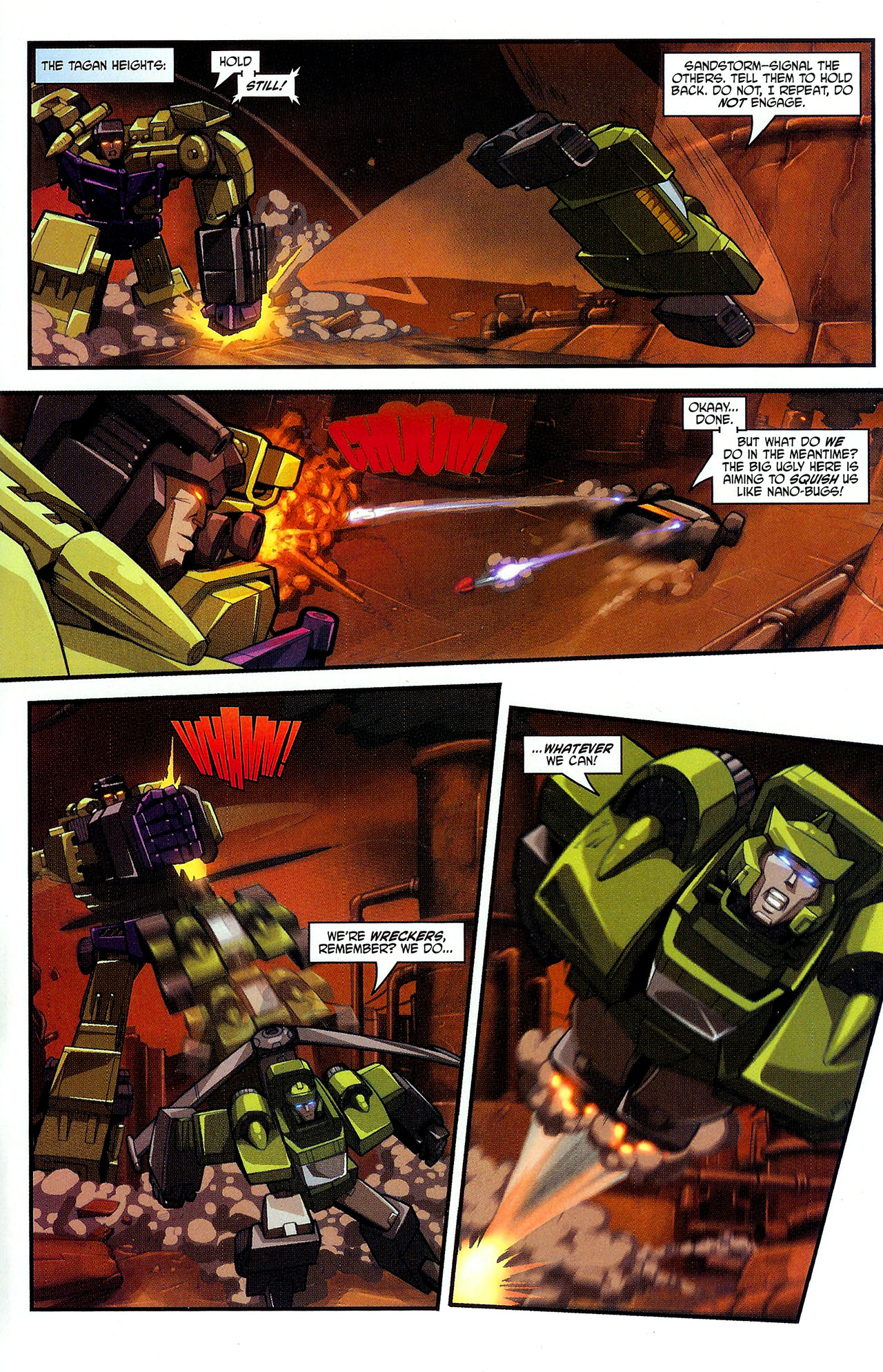 """Read online Transformers War Within: """"The Dark Ages"""" comic -  Issue #2 - 12"""