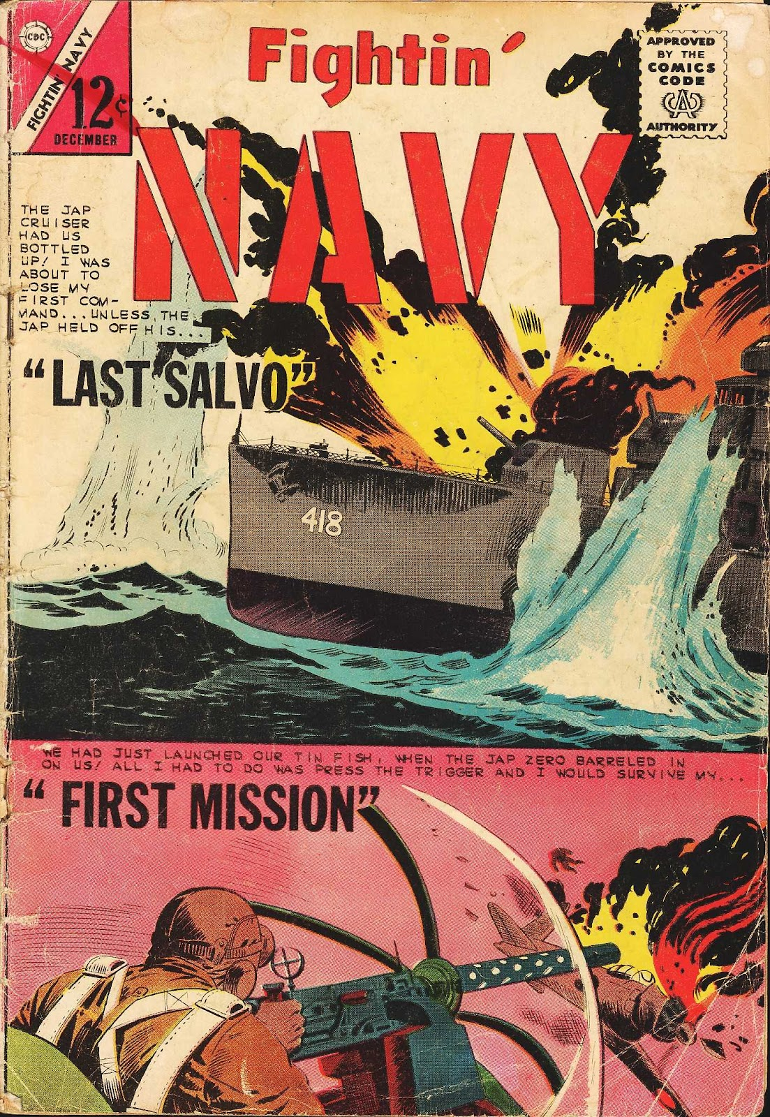 Read online Fightin' Navy comic -  Issue #113 - 1