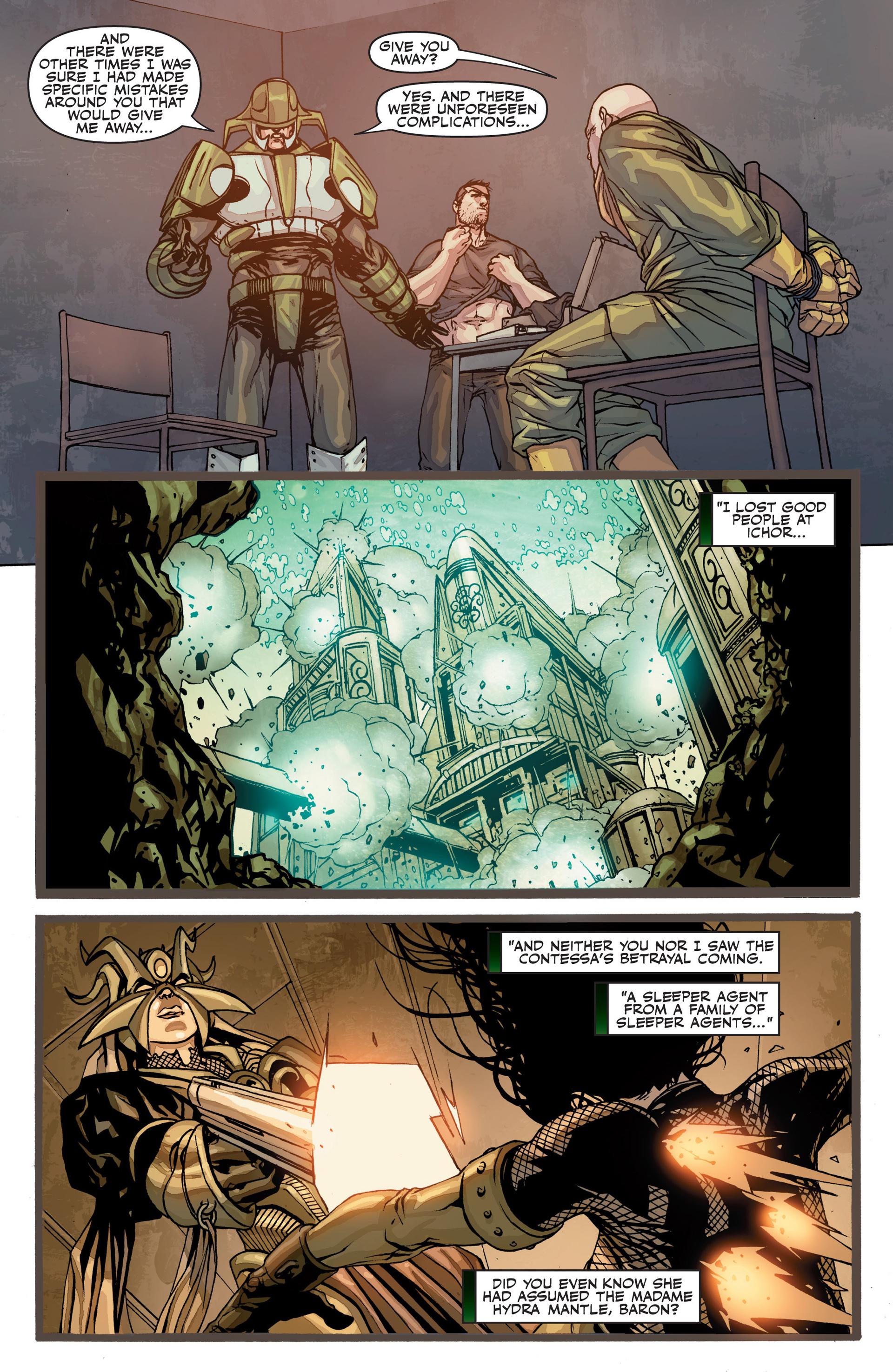 Read online Secret Warriors comic -  Issue #26 - 18