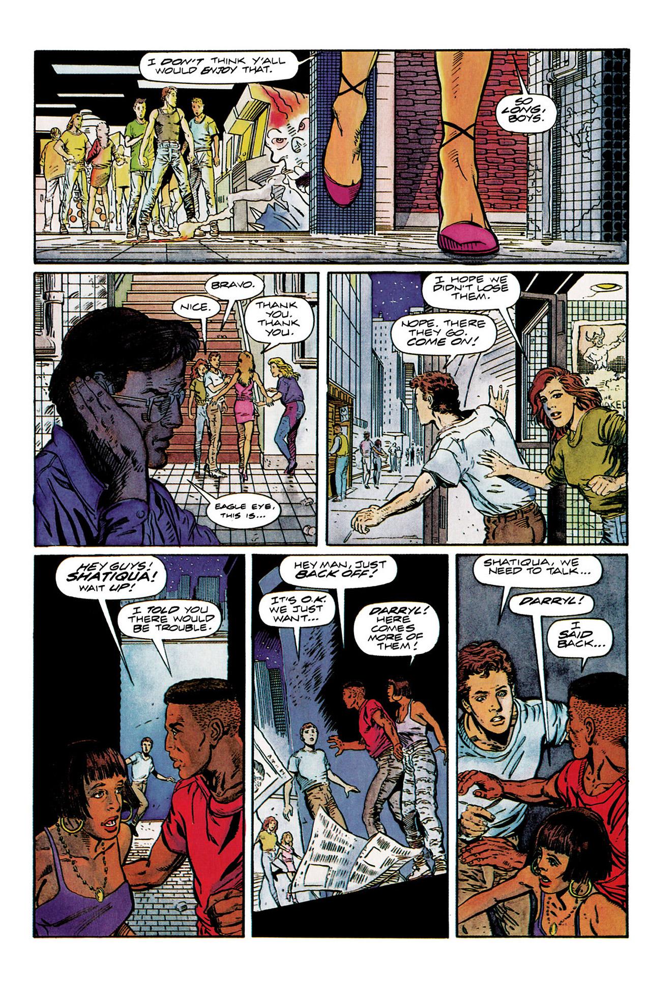 Read online Harbinger (1992) comic -  Issue #10 - 17