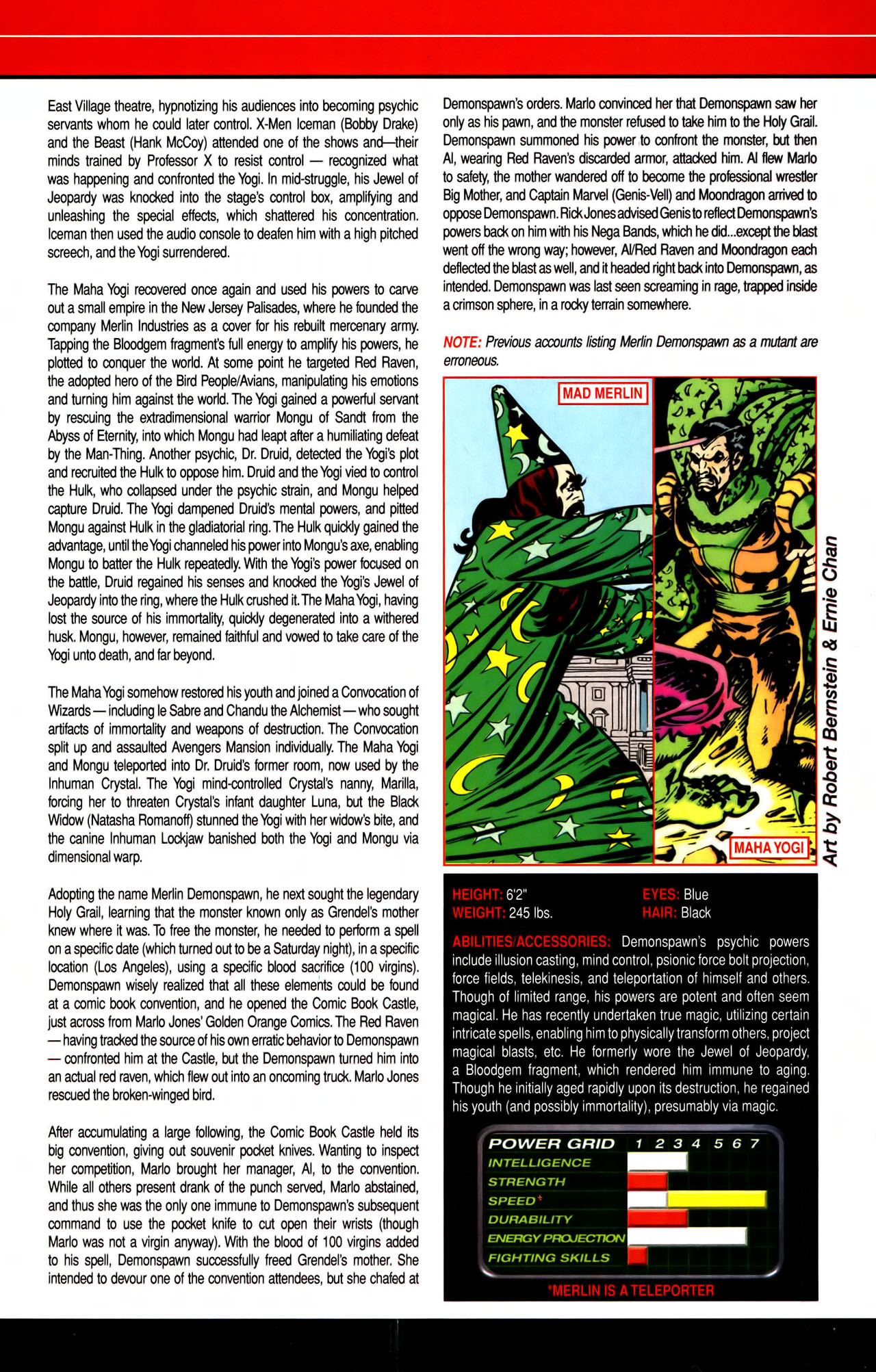 Read online All-New Official Handbook of the Marvel Universe A to Z comic -  Issue #7 - 27