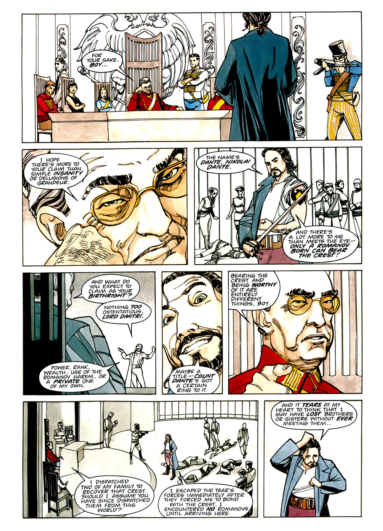 Read online Nikolai Dante comic -  Issue # TPB 1 - 49