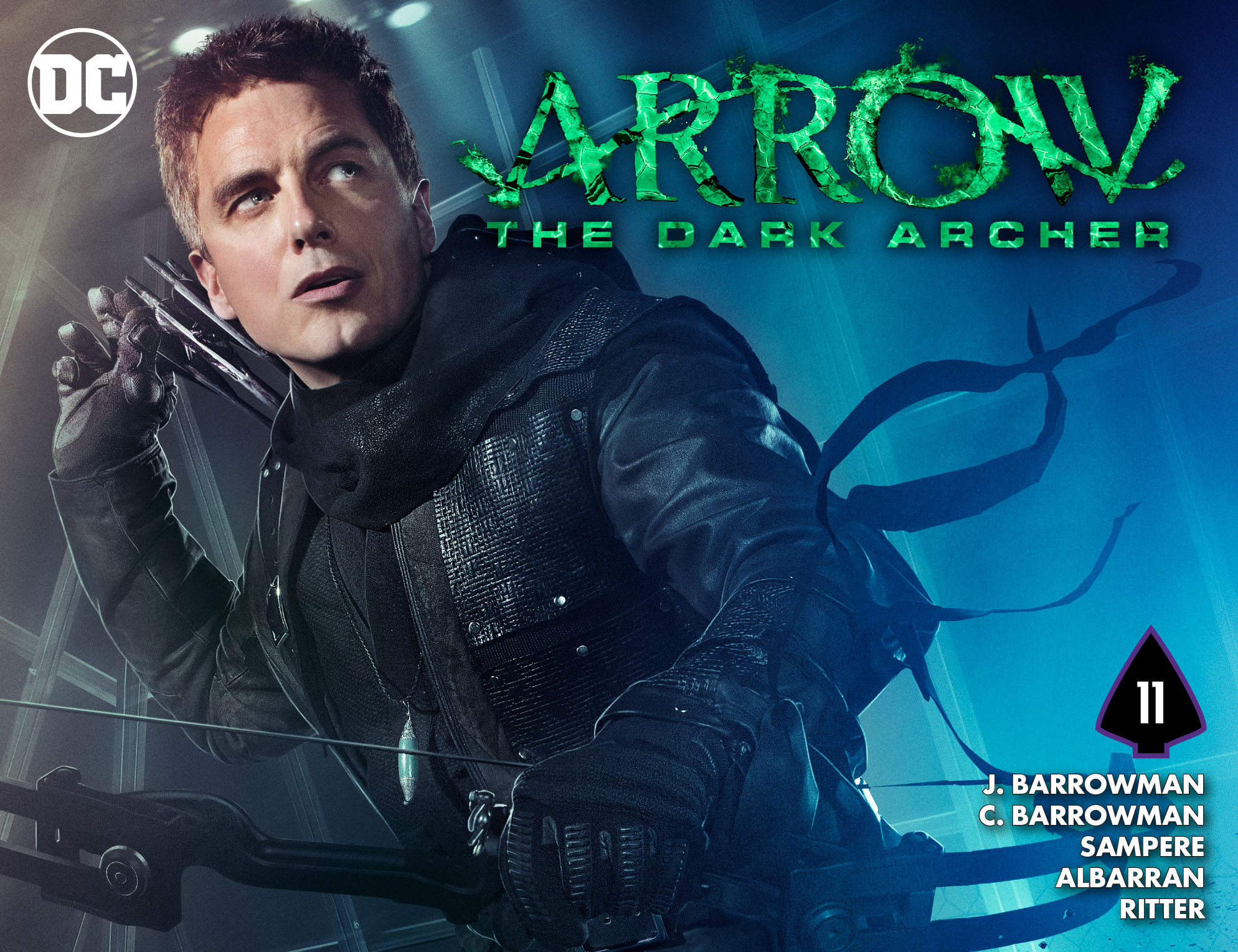 Read online Arrow: The Dark Archer comic -  Issue #11 - 1